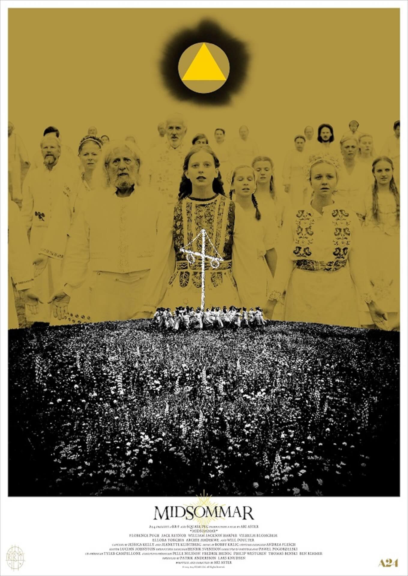 映画『ミッドサマー』公開目前!ヒグチユウコが手掛けたポスターやPOPEYEとの限定コラボTシャツプレゼントキャンペーン実施決定 film200219_midsommarfanart_03