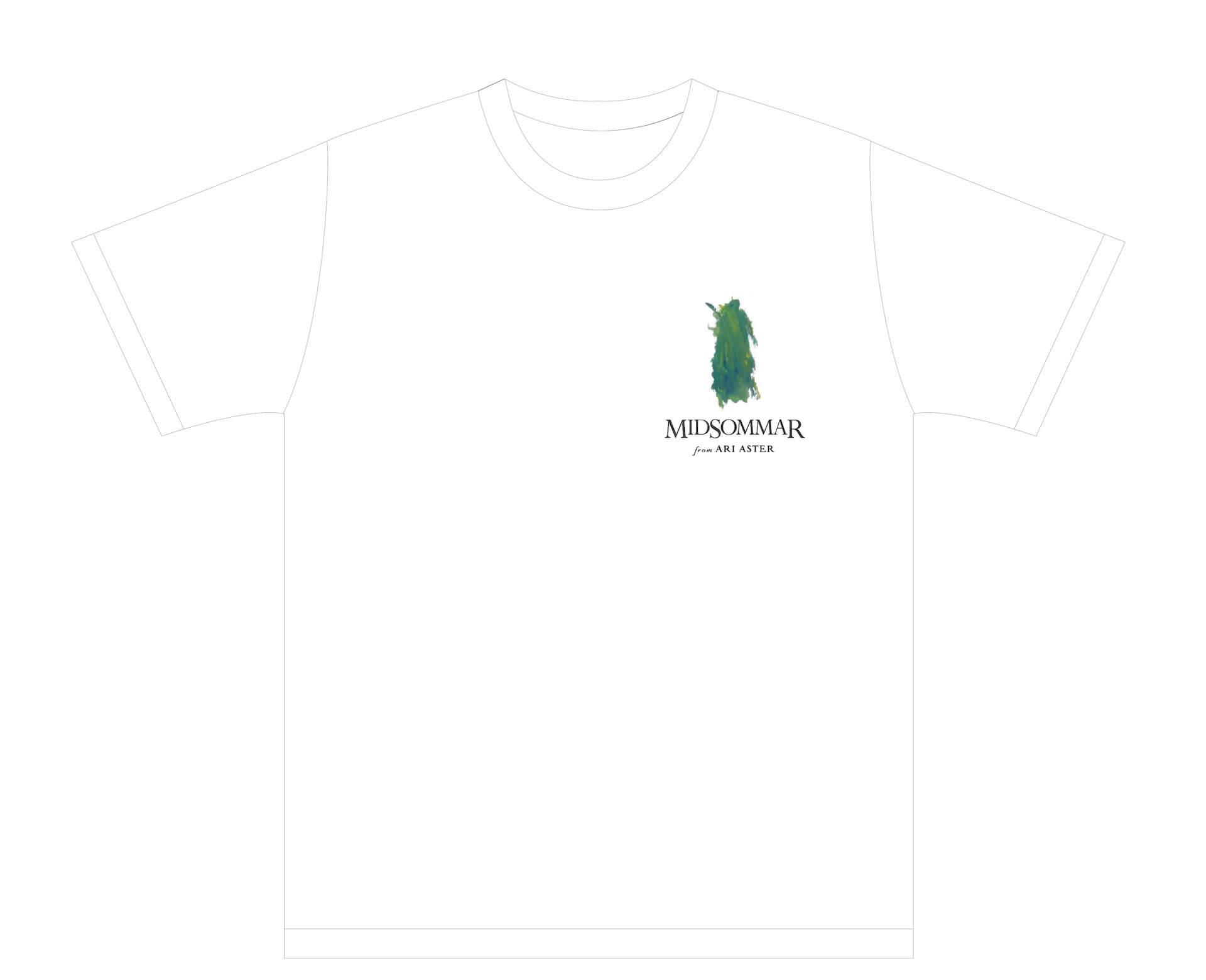 映画『ミッドサマー』公開目前!ヒグチユウコが手掛けたポスターやPOPEYEとの限定コラボTシャツプレゼントキャンペーン実施決定 film200219_midsommarfanart_05