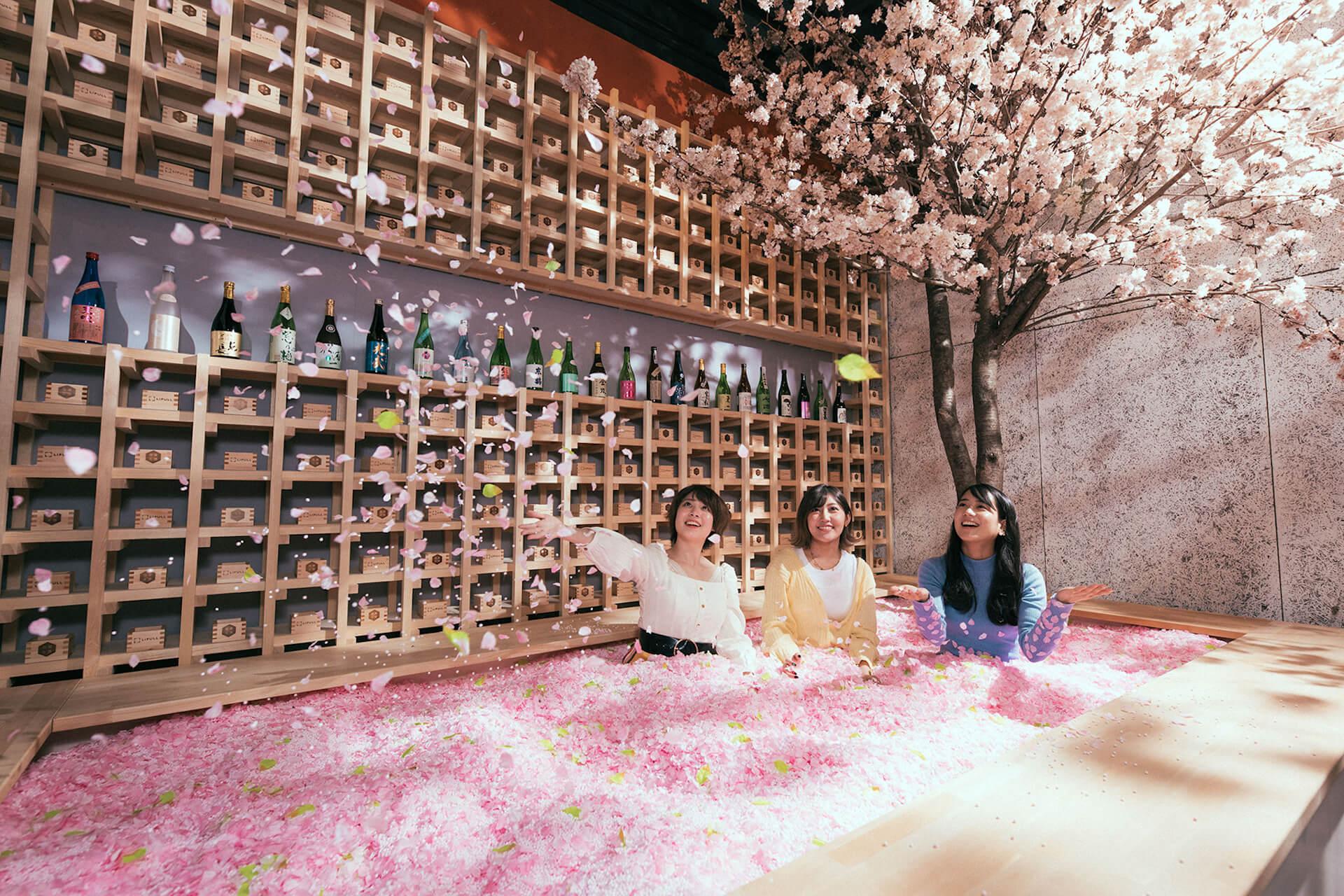 桜風呂や食べられる桜など限定メニューも!インドア花見「SAKURA CHILL BAR」が渋谷で期間限定開催決定 gourmet200218_sakurachill_02