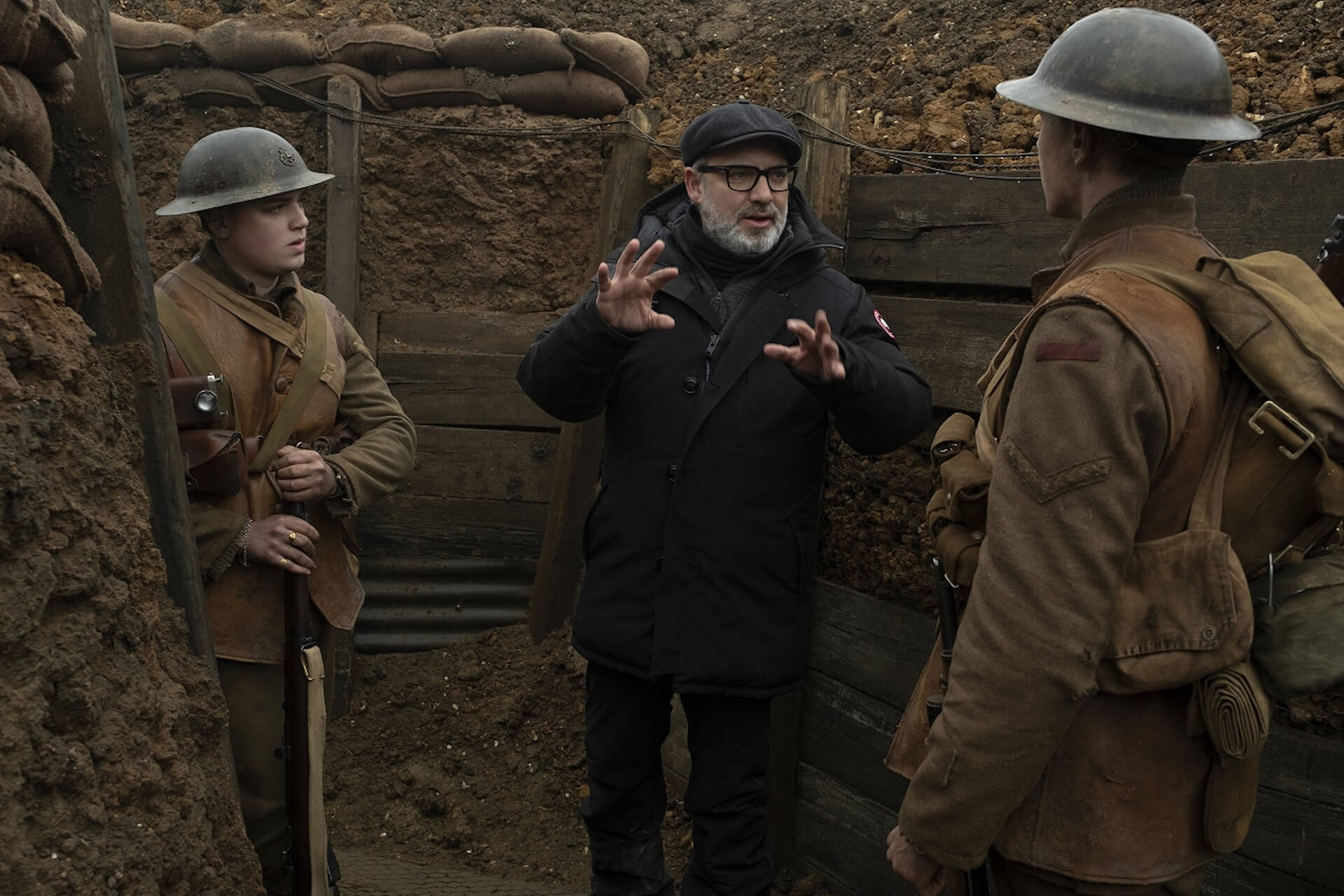 『1917 命をかけた伝令』でアカデミー賞を受賞したロジャー・ディーキンスと監督サム・メンデスが語るワンカット撮影のこだわりとは? film200220_1917maiking_01