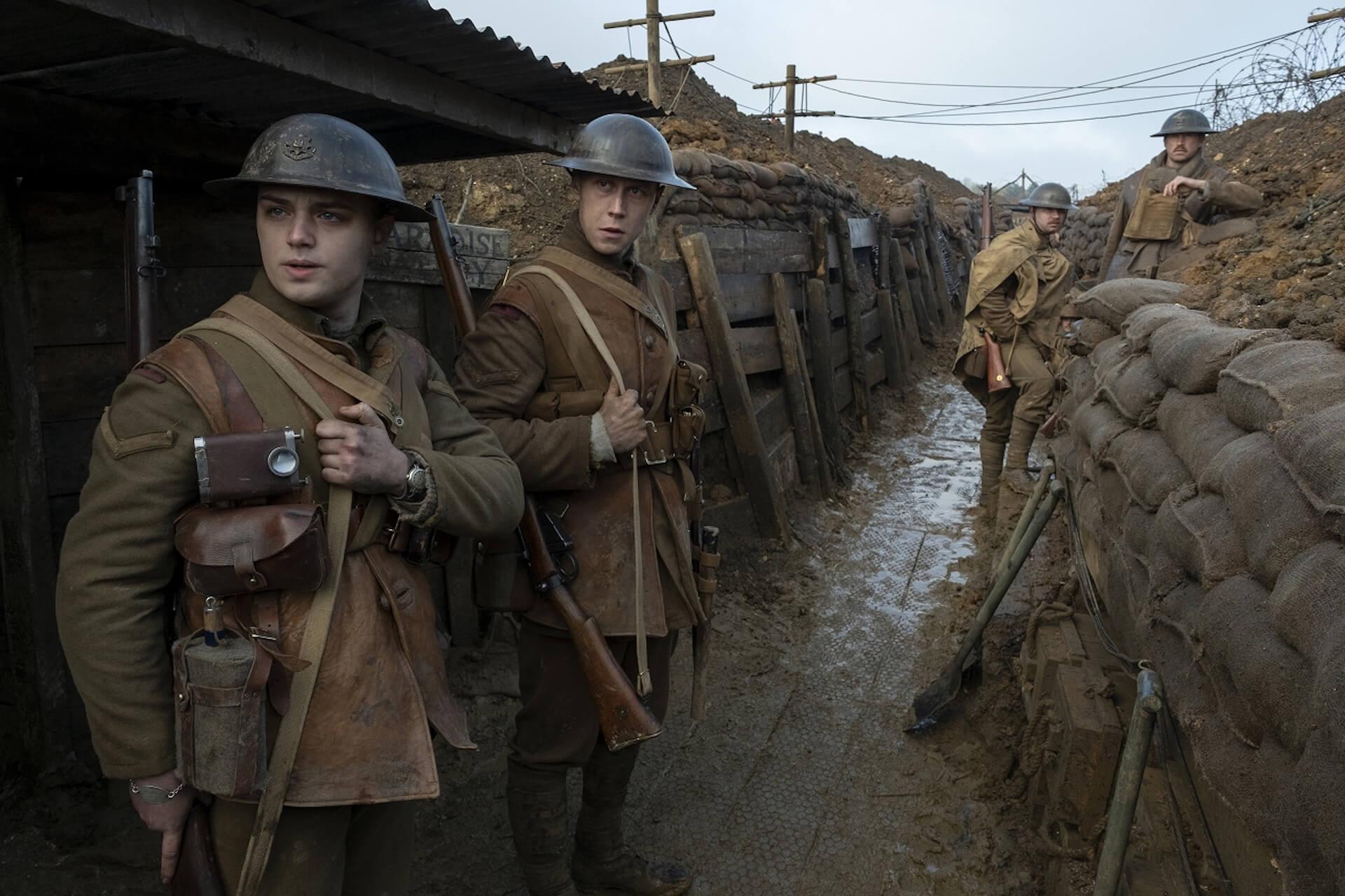 『1917 命をかけた伝令』でアカデミー賞を受賞したロジャー・ディーキンスと監督サム・メンデスが語るワンカット撮影のこだわりとは? film200220_1917maiking_07