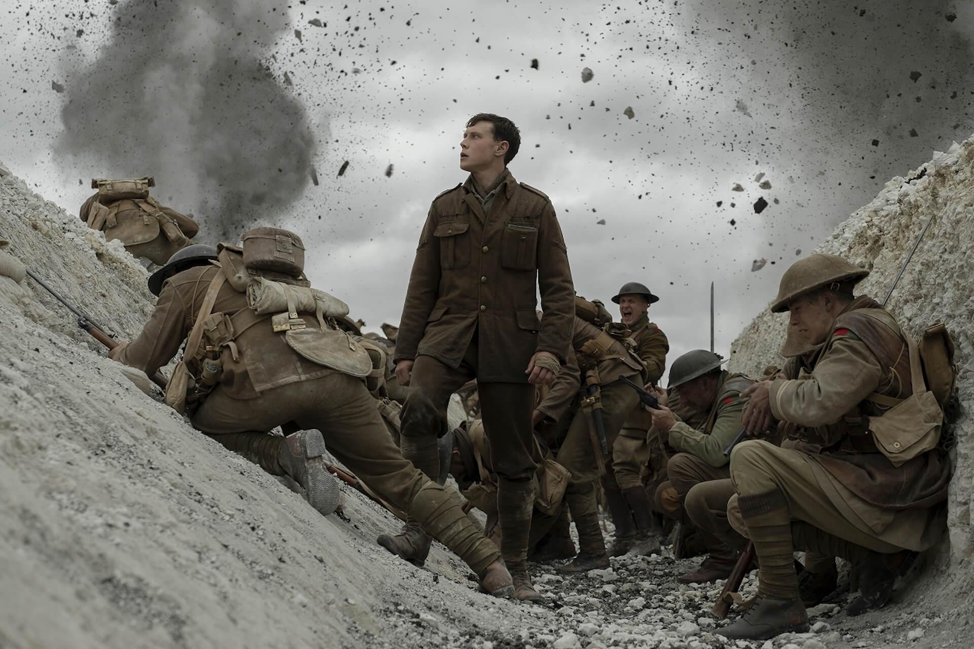 『1917 命をかけた伝令』でアカデミー賞を受賞したロジャー・ディーキンスと監督サム・メンデスが語るワンカット撮影のこだわりとは? film200220_1917maiking_11