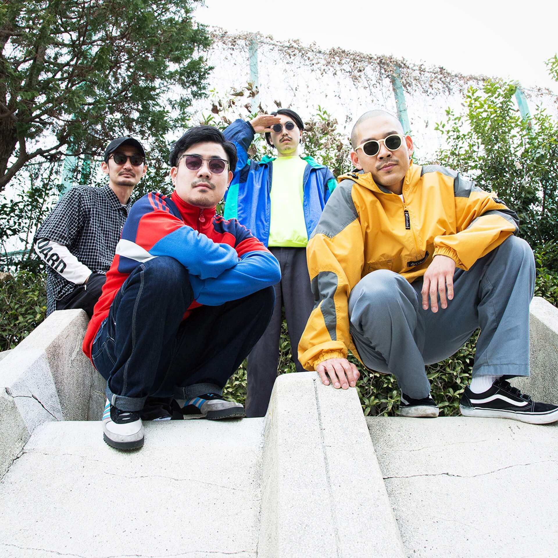TOKYO HEALTH CLUBが4年ぶりにアルバム『4』をリリース!羊文学Vo.塩塚モエカ、CHAPAHが客演 music200227_tokyohealthclub_02