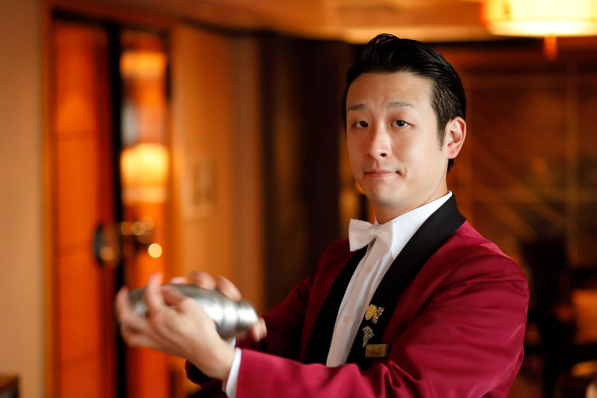 """世界第5位に輝いたバーテンダーによる""""サスティナブル""""な桜カクテルが登場!ホテルニューオータニ東京・Bar Capriにて期間限定で提供開始 gourmet200302_sakurafizz_5-1920x1280"""
