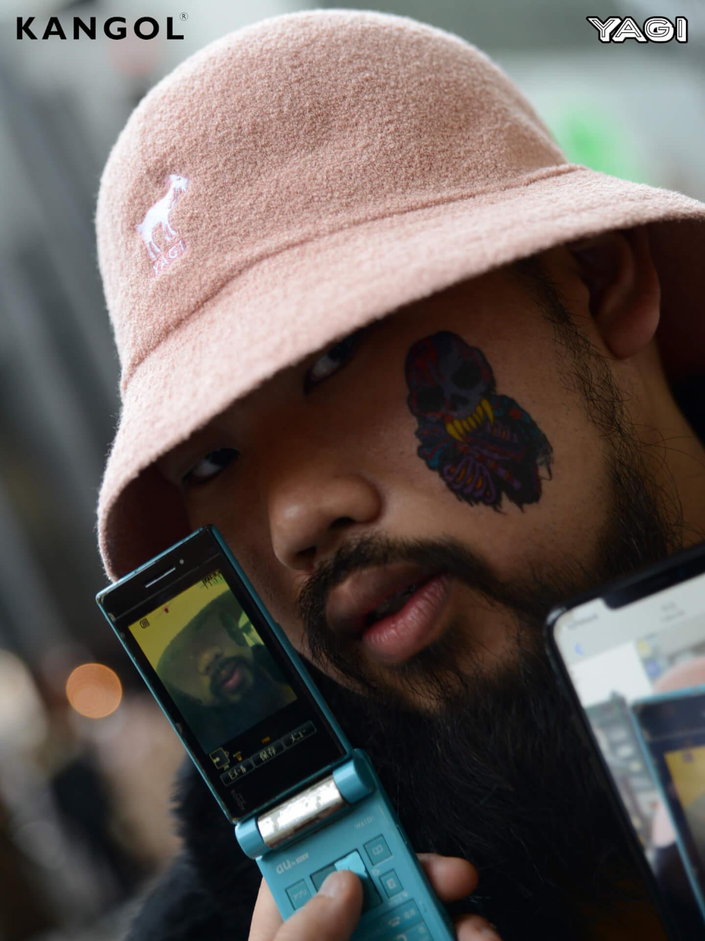 KANGOLがオカモトレイジ率いる「YAGI EXHIBITION」とコラボ|YAGIを配したオリジナルハット発売 life200302_yagi_kangol_11