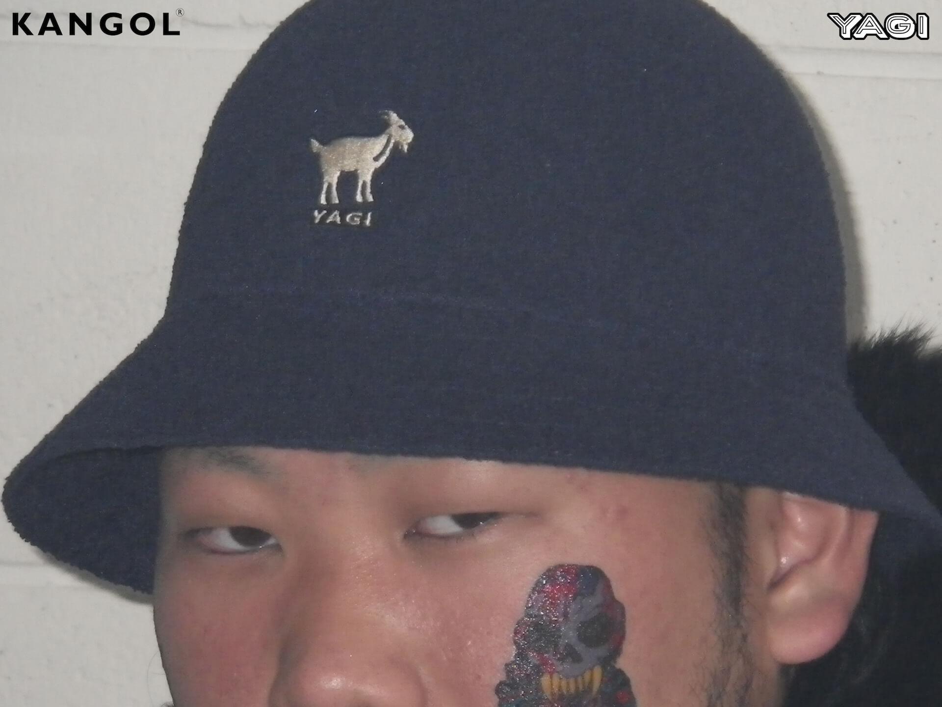 KANGOLがオカモトレイジ率いる「YAGI EXHIBITION」とコラボ|YAGIを配したオリジナルハット発売 life200302_yagi_kangol_15