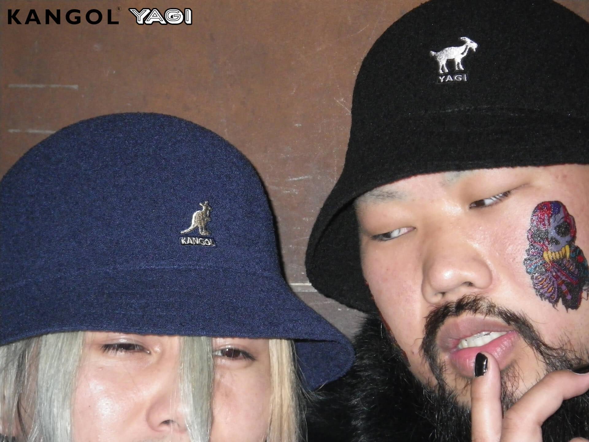 KANGOLがオカモトレイジ率いる「YAGI EXHIBITION」とコラボ|YAGIを配したオリジナルハット発売 life200302_yagi_kangol_16