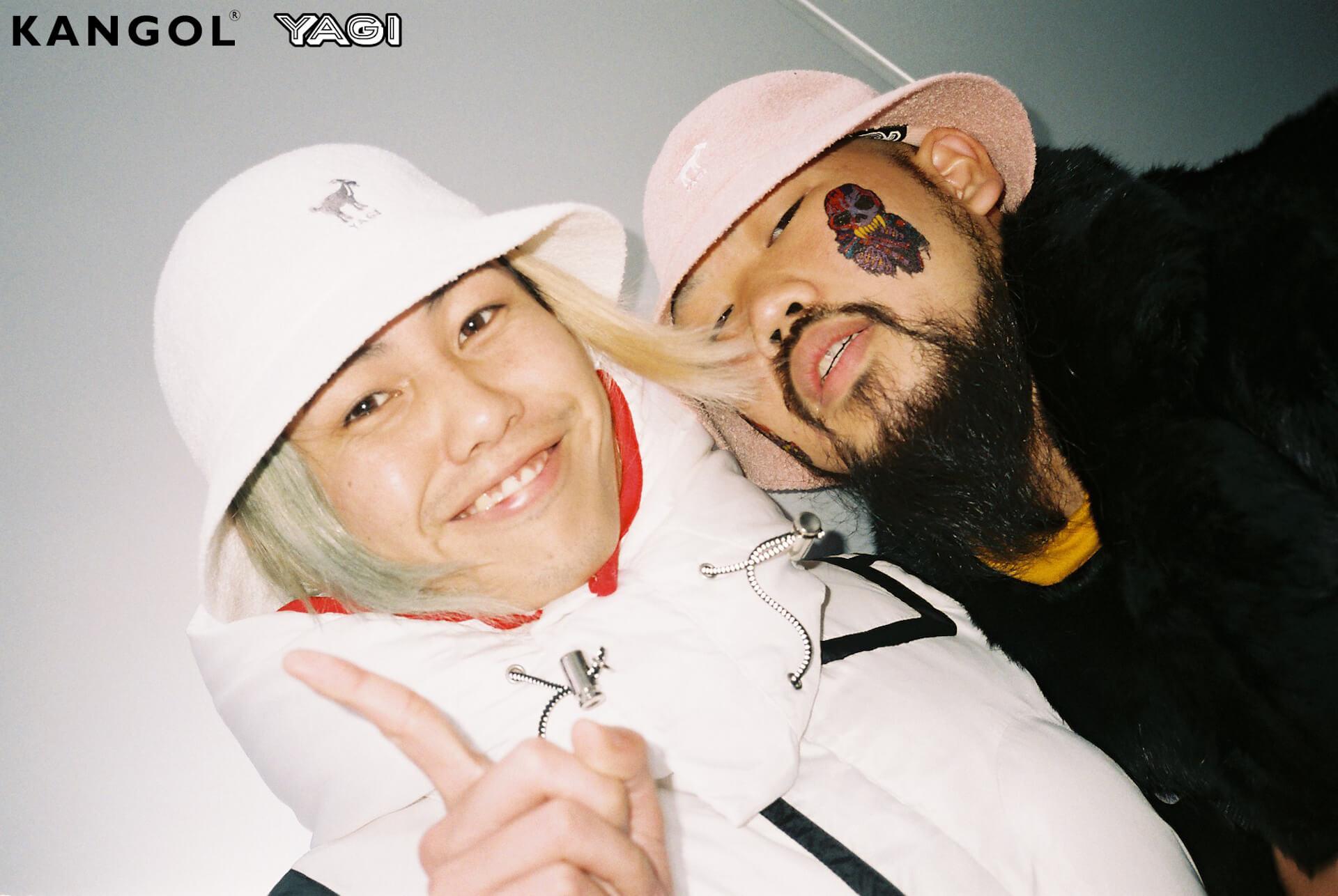 KANGOLがオカモトレイジ率いる「YAGI EXHIBITION」とコラボ|YAGIを配したオリジナルハット発売 life200302_yagi_kangol_17