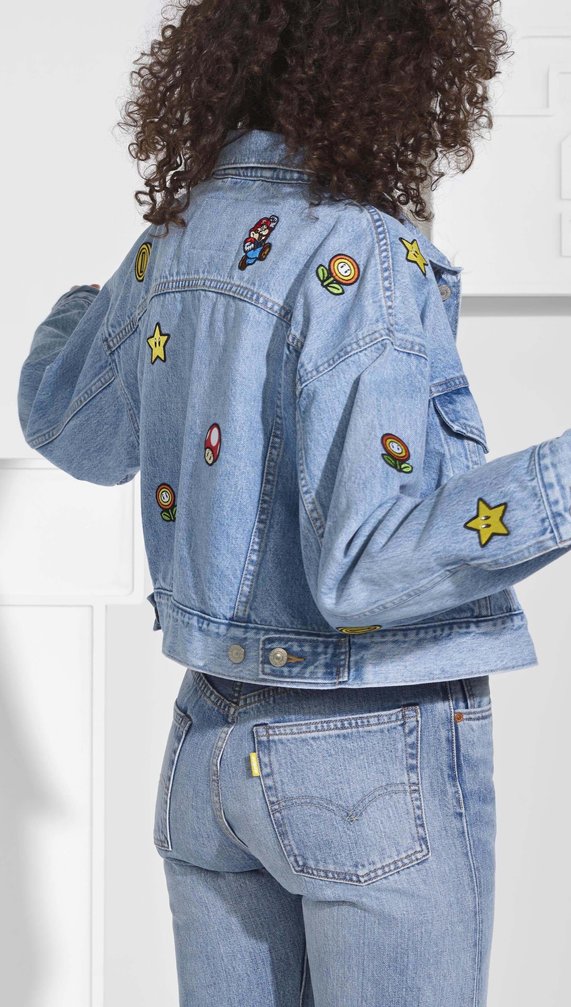 スーパーマリオとリーバイスがコラボ!マリオやルイージ、ヨッシー、ピーチ姫などが配されたデニムアイテム中心のコレクションが発売決定 life200304_mariolevis_6-1920x3385
