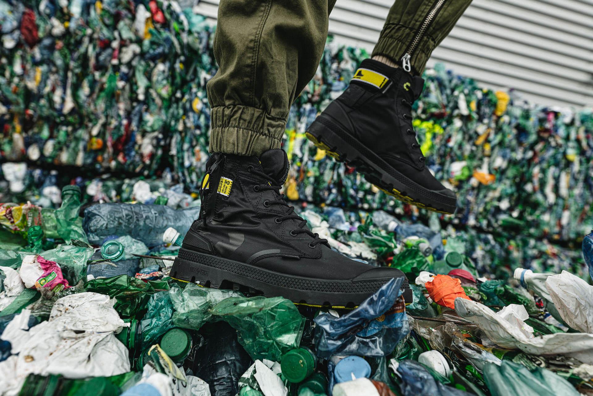 パラディウムから微生物の働きにより分解できる素材やペットボトルを使ったサスティナブルな防水ブーツ3モデルが登場! lf200305_palladiumrcycl_02