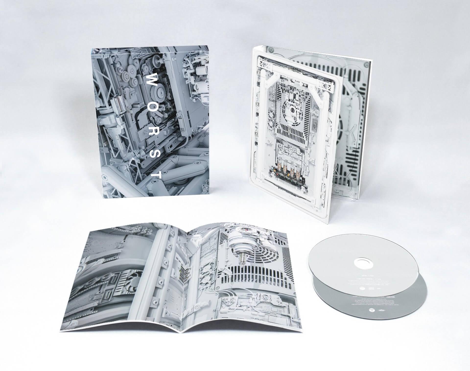 現在の活動から引退を発表したKOHHがニューアルバム『worst』を発表|引退表明した<KOHH Live in Concert>完全収録のコンプリートボックスも music200305_kohh_2