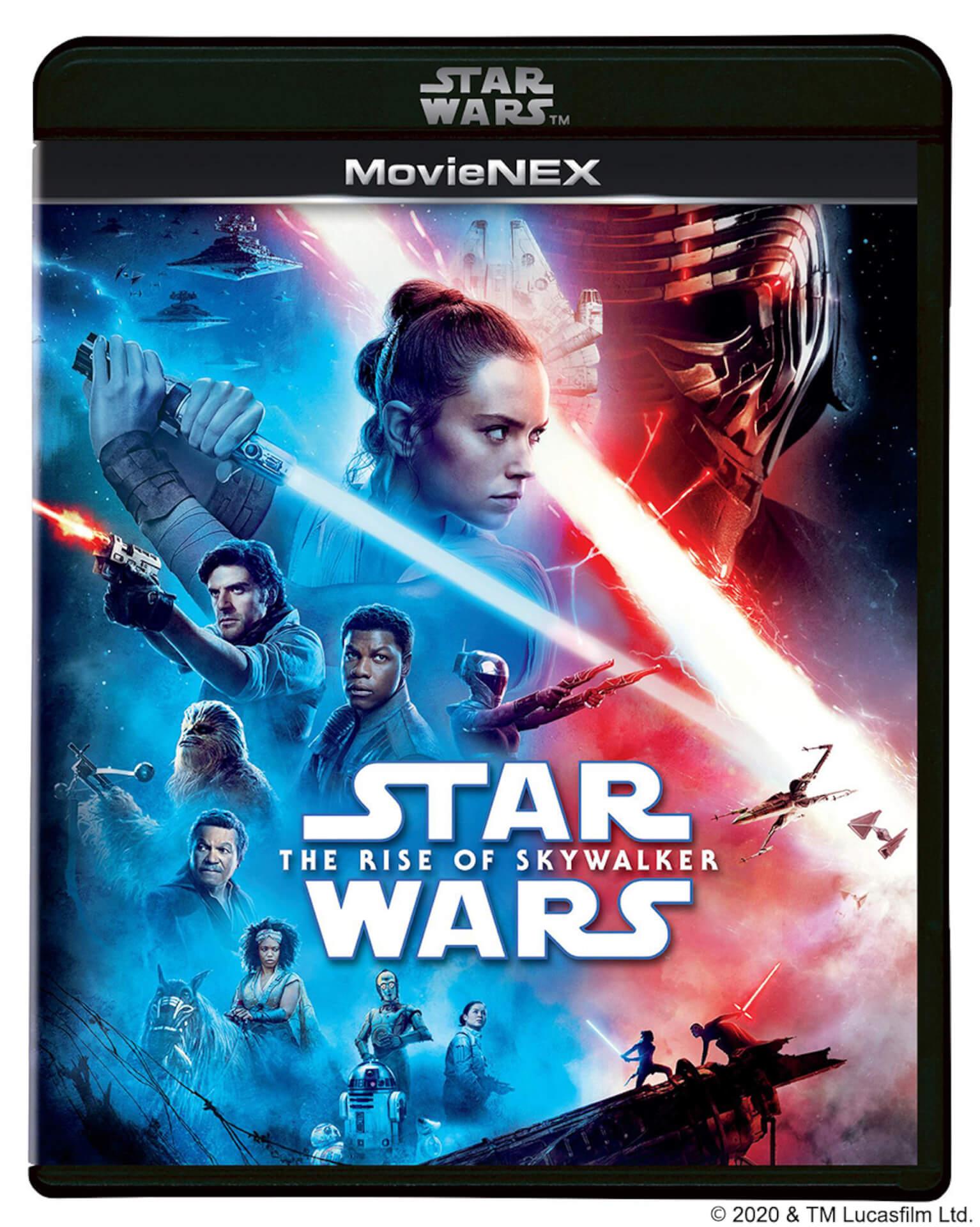 ついに『スター・ウォーズ/スカイウォーカーの夜明け』のMovieNEXが登場!サーガ全9作をコンプリートしたBOX盤も発売 video200306_starwars_bluray_8