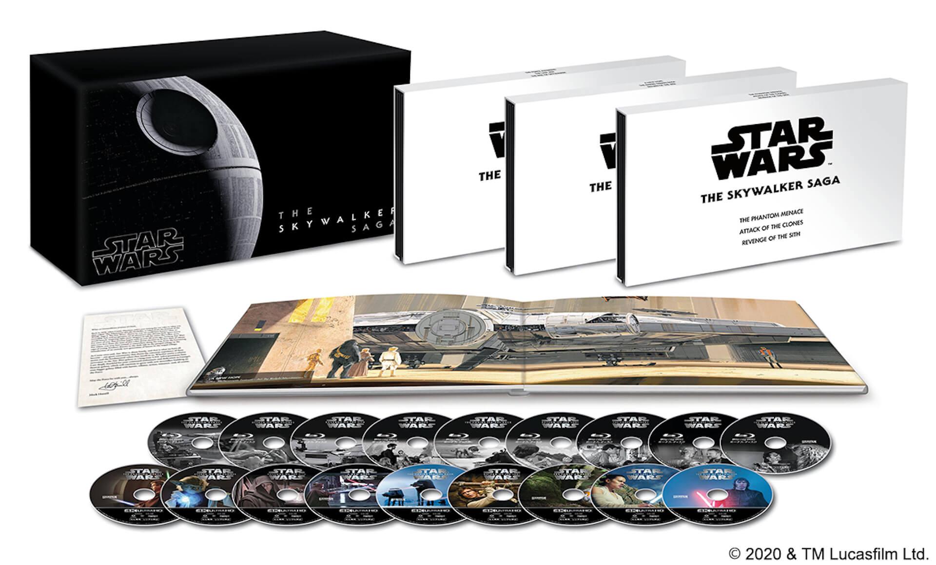 ついに『スター・ウォーズ/スカイウォーカーの夜明け』のMovieNEXが登場!サーガ全9作をコンプリートしたBOX盤も発売 video200306_starwars_bluray_6