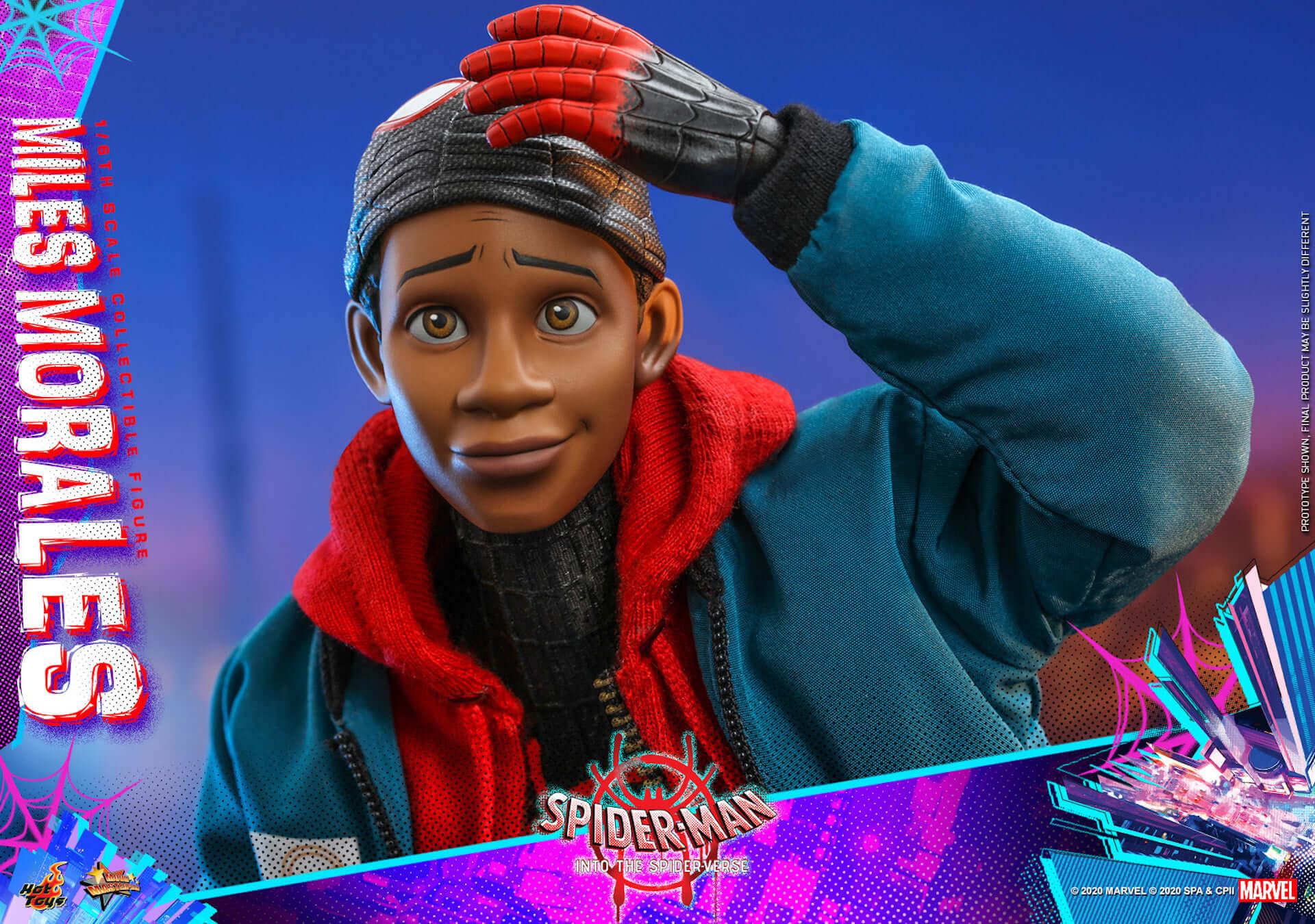 ついに『スパイダーマン:スパイダーバース』のマイルス・スパイダーマンがフィギュアに!ホットトイズ「ムービー・マスターピース」シリーズ新登場 film200310_spiderman_5-1920x1350