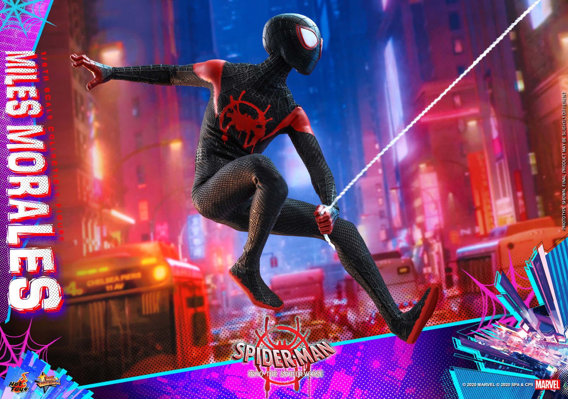 ついに『スパイダーマン:スパイダーバース』のマイルス・スパイダーマンがフィギュアに!ホットトイズ「ムービー・マスターピース」シリーズ新登場 film200310_spiderman_7-1920x1350