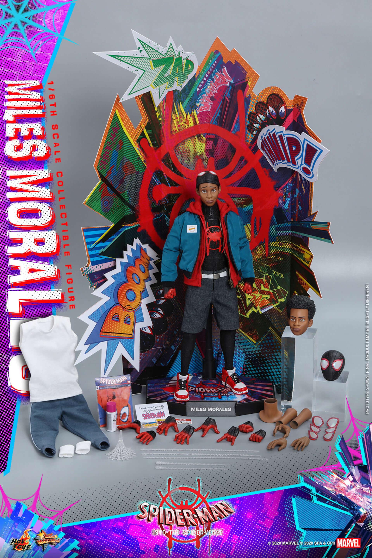 ついに『スパイダーマン:スパイダーバース』のマイルス・スパイダーマンがフィギュアに!ホットトイズ「ムービー・マスターピース」シリーズ新登場 film200310_spiderman_10-1920x2880