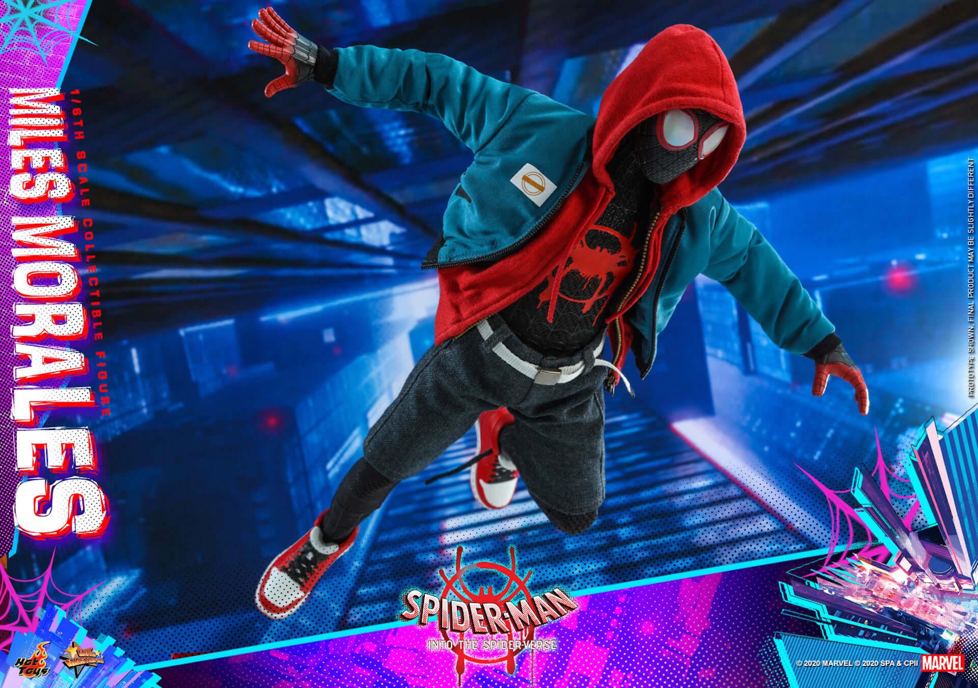 ついに『スパイダーマン:スパイダーバース』のマイルス・スパイダーマンがフィギュアに!ホットトイズ「ムービー・マスターピース」シリーズ新登場 film200310_spiderman_32-1920x1350