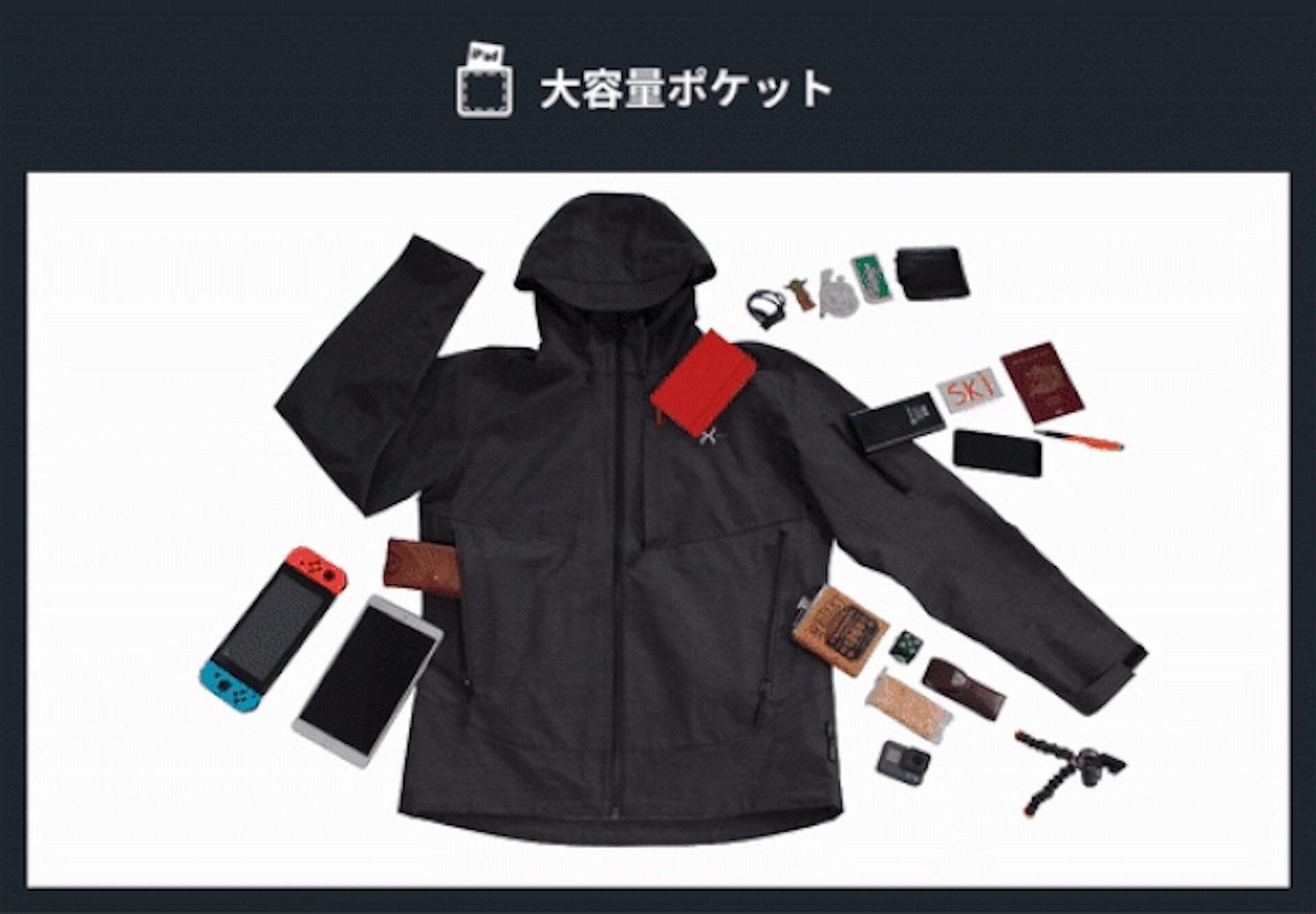 ダイヤモンドに匹敵する強度のグラフェンを使用したジャケットがクラウドファンディングサイトにて先行予約販売開始! lf200312_graphenex_02