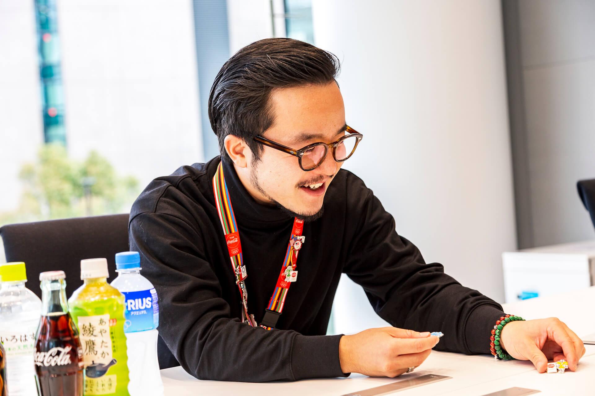 VERDYデザインのオリジナルピンから紐解く、コカ・コーラ社が東京2020オリンピックに込める想い interview-cocacola-verdy-3