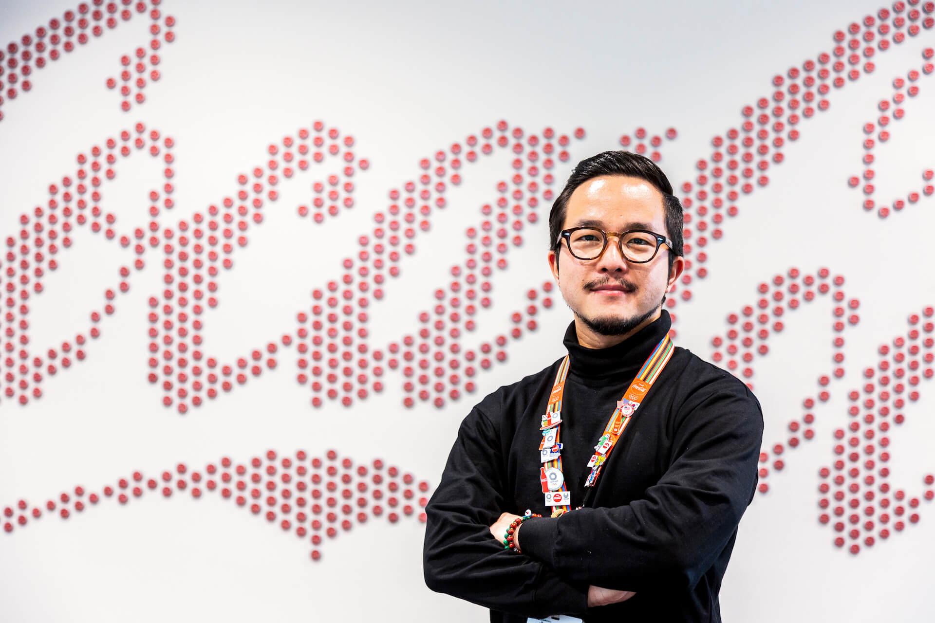 VERDYデザインのオリジナルピンから紐解く、コカ・コーラ社が東京2020オリンピックに込める想い interview-cocacola-verdy-6