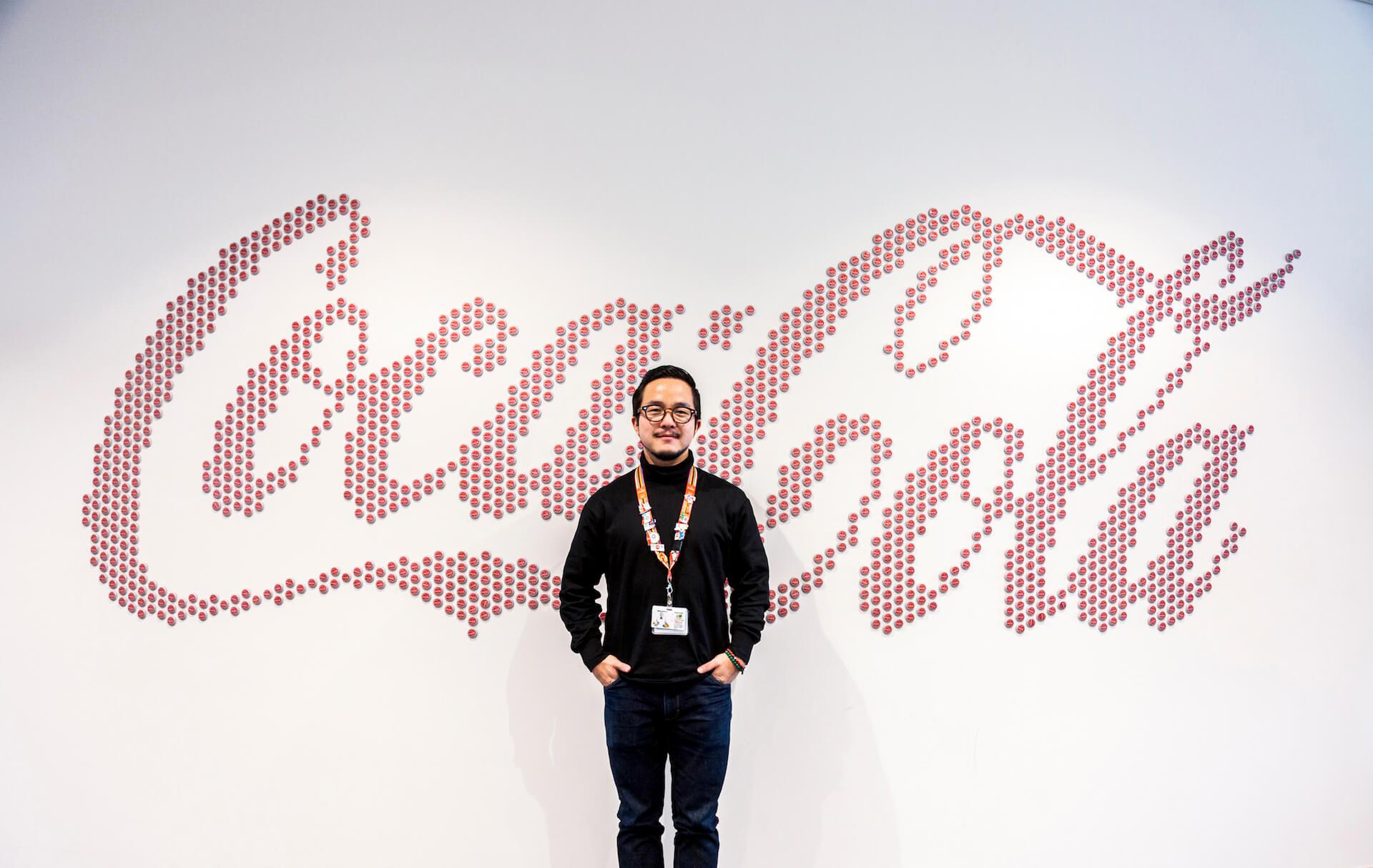 VERDYデザインのオリジナルピンから紐解く、コカ・コーラ社が東京2020オリンピックに込める想い interview-cocacola-verdy-9