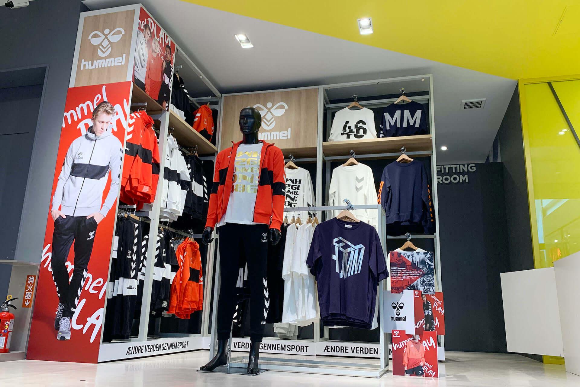 ヒュンメルのポップアップストアがゼビオ渋谷店に期間限定でオープン!「hummel PLAY」を中心としたアパレルが展開 life200316_hummel_xebio_4-1920x1280