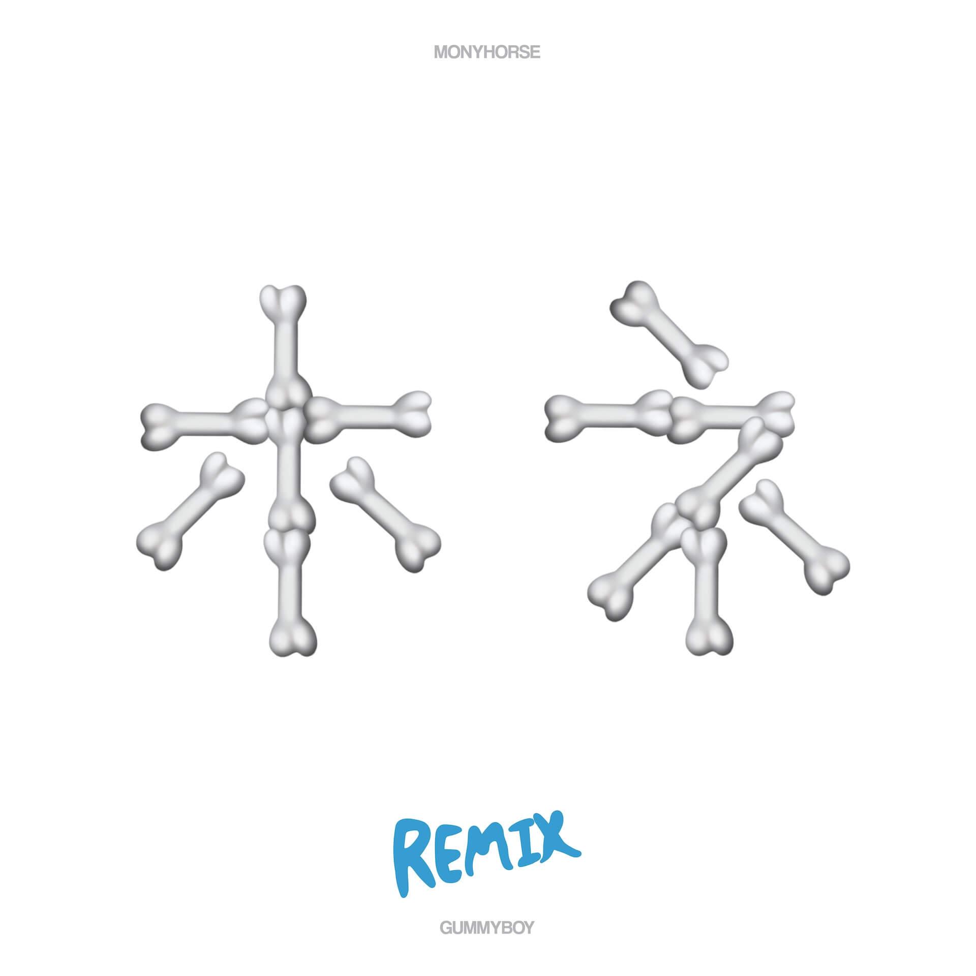 "gummyboyがミックステープの1曲目""hone(remix)""をサプライズリリース!YENTOWNのMonyHorseが客演 music200318_hone_03"