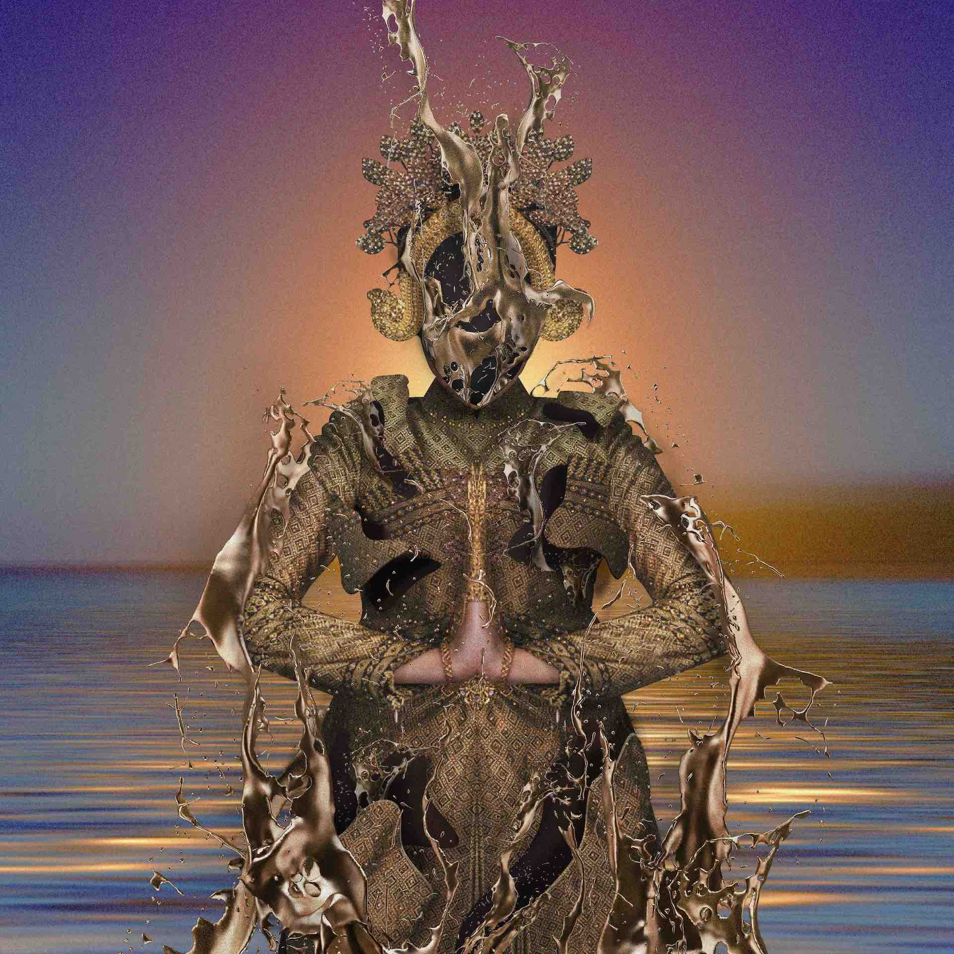 "Kenmochi Hidefumiが""Bombay Sapphire""をデジタルリリース!アートワークは孔雀倶楽部のクワハラヨシユキが担当 music200320_kenmochi_01"
