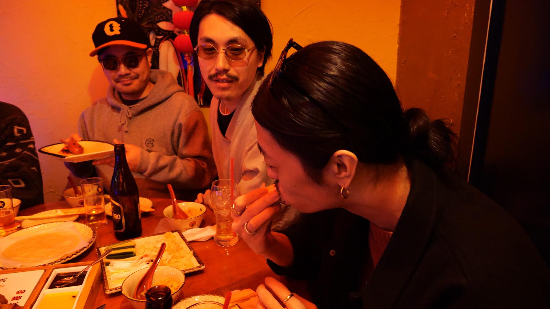 フッドめし - HoodFood #07 TOKYO HEALTH CLUB × Kick a Show video200321_hoodfood7_3