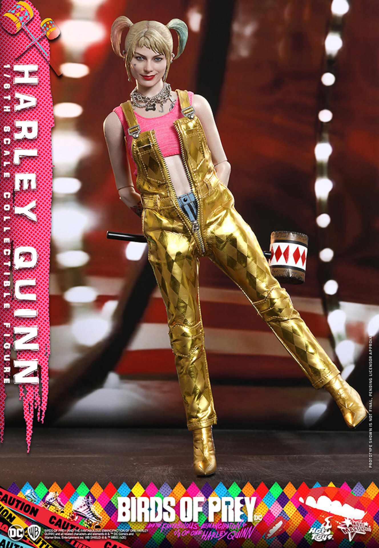 マーゴット・ロビー演じるハーレイ・クインがついに超精巧なフィギュアに!ホットトイズから『ハーレイ・クインの華麗なる覚醒』のフィギュアが登場 art200323_harleyquin_4