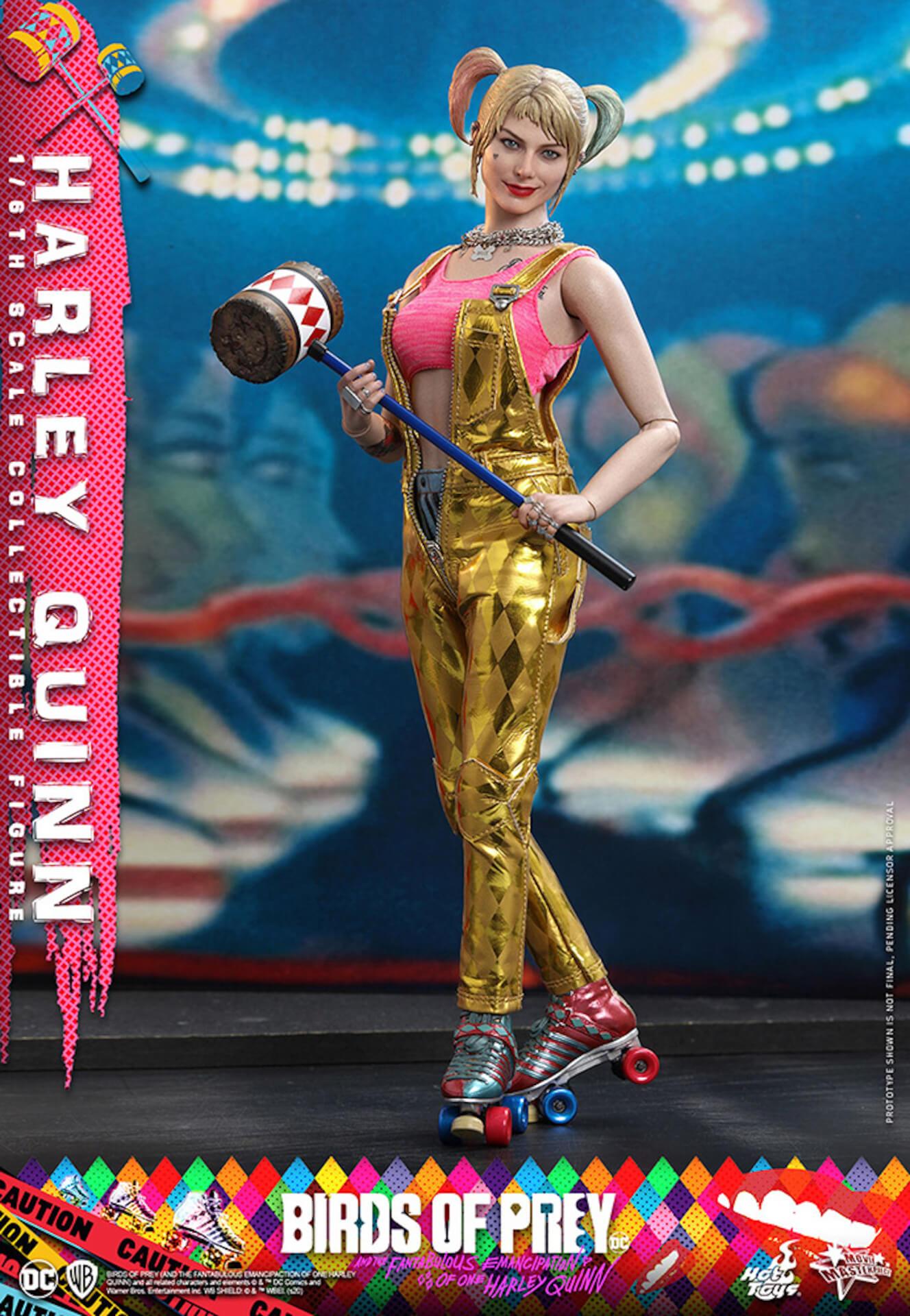 マーゴット・ロビー演じるハーレイ・クインがついに超精巧なフィギュアに!ホットトイズから『ハーレイ・クインの華麗なる覚醒』のフィギュアが登場 art200323_harleyquin_5