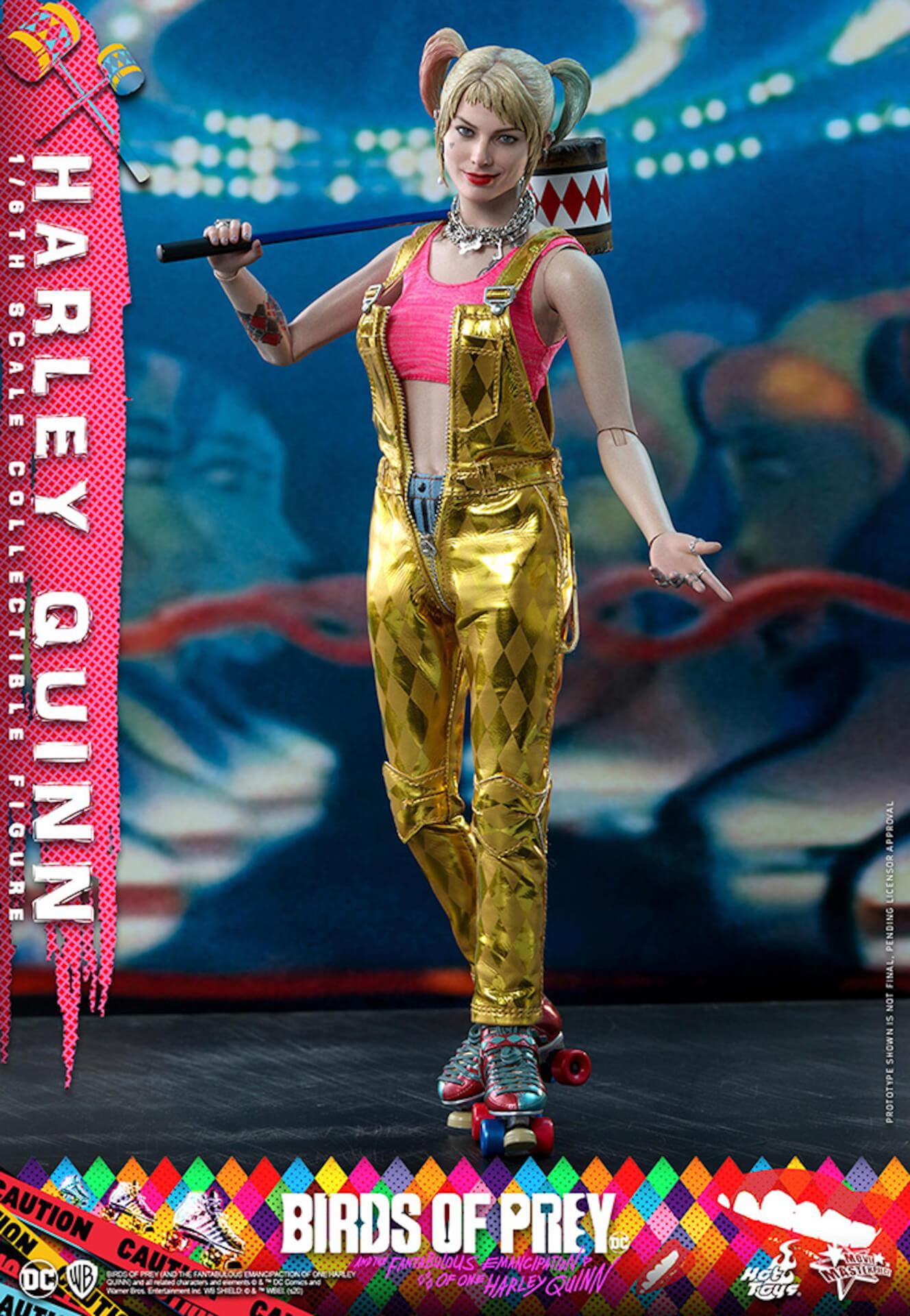 マーゴット・ロビー演じるハーレイ・クインがついに超精巧なフィギュアに!ホットトイズから『ハーレイ・クインの華麗なる覚醒』のフィギュアが登場 art200323_harleyquin_6