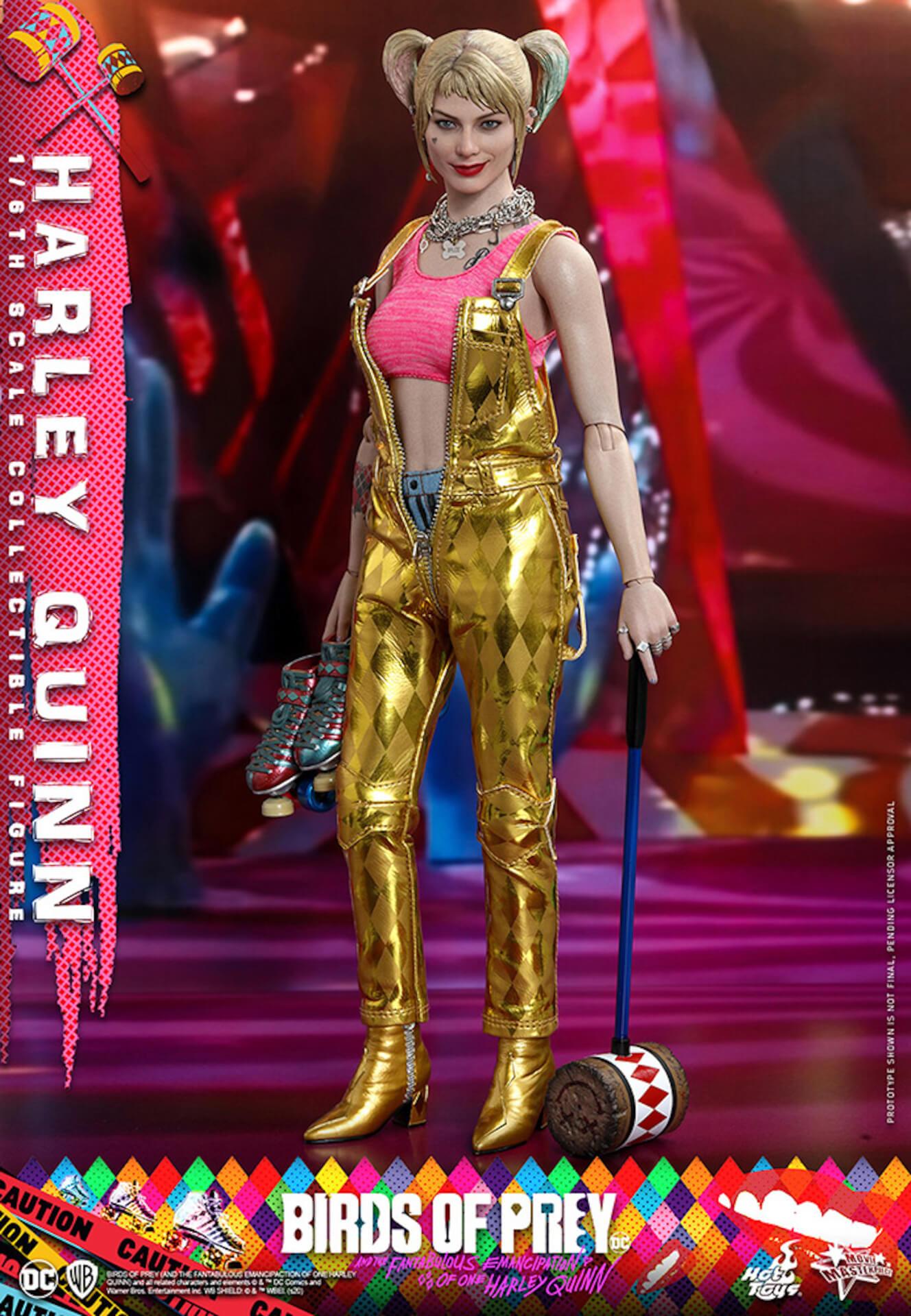 マーゴット・ロビー演じるハーレイ・クインがついに超精巧なフィギュアに!ホットトイズから『ハーレイ・クインの華麗なる覚醒』のフィギュアが登場 art200323_harleyquin_7