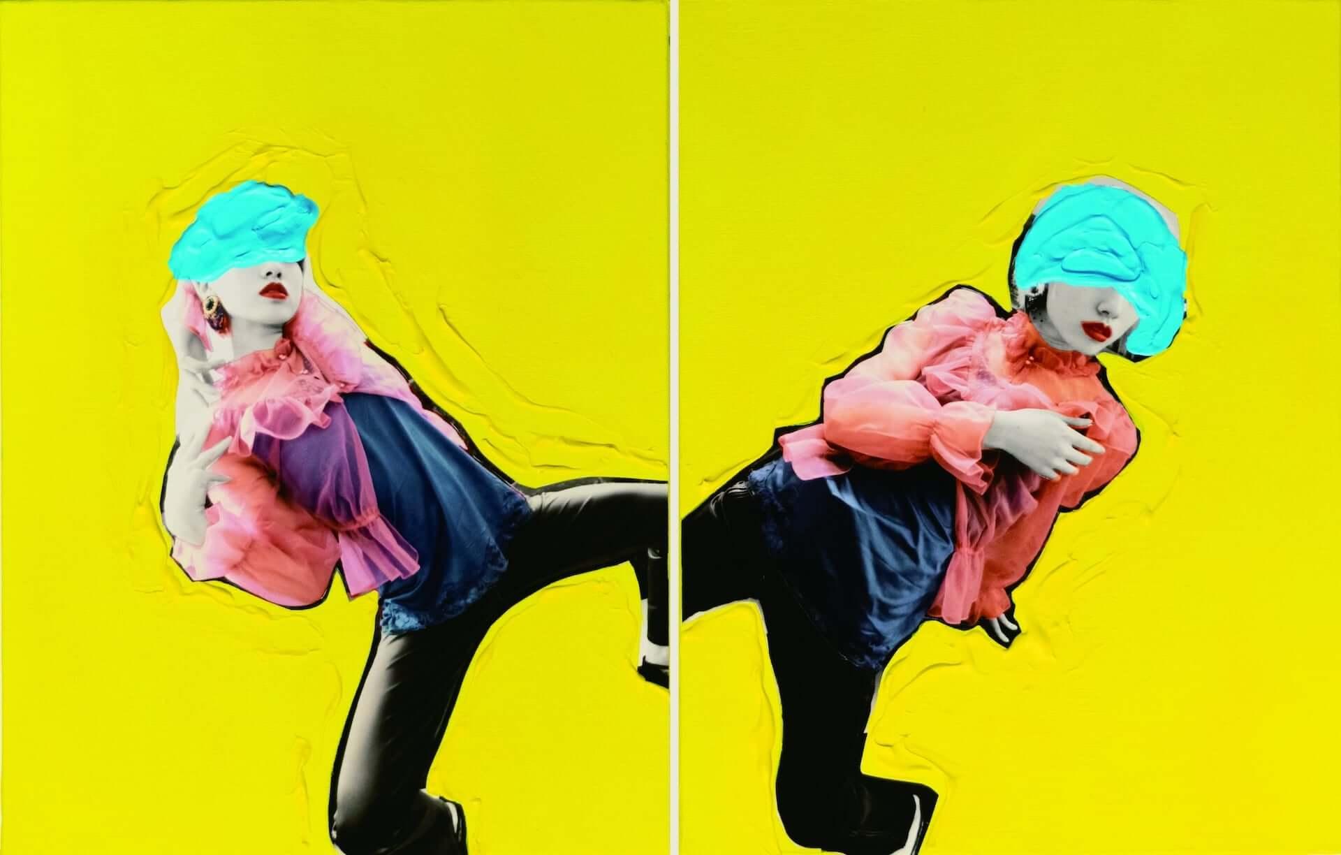野性爆弾COOKIEが画家として新作を発表!米原康正、秋赤音、Hajime Kinokoら出展の<リアルトウキョウアート>が入場無料で開催 art200324_realtokyoart_8-1920x1224