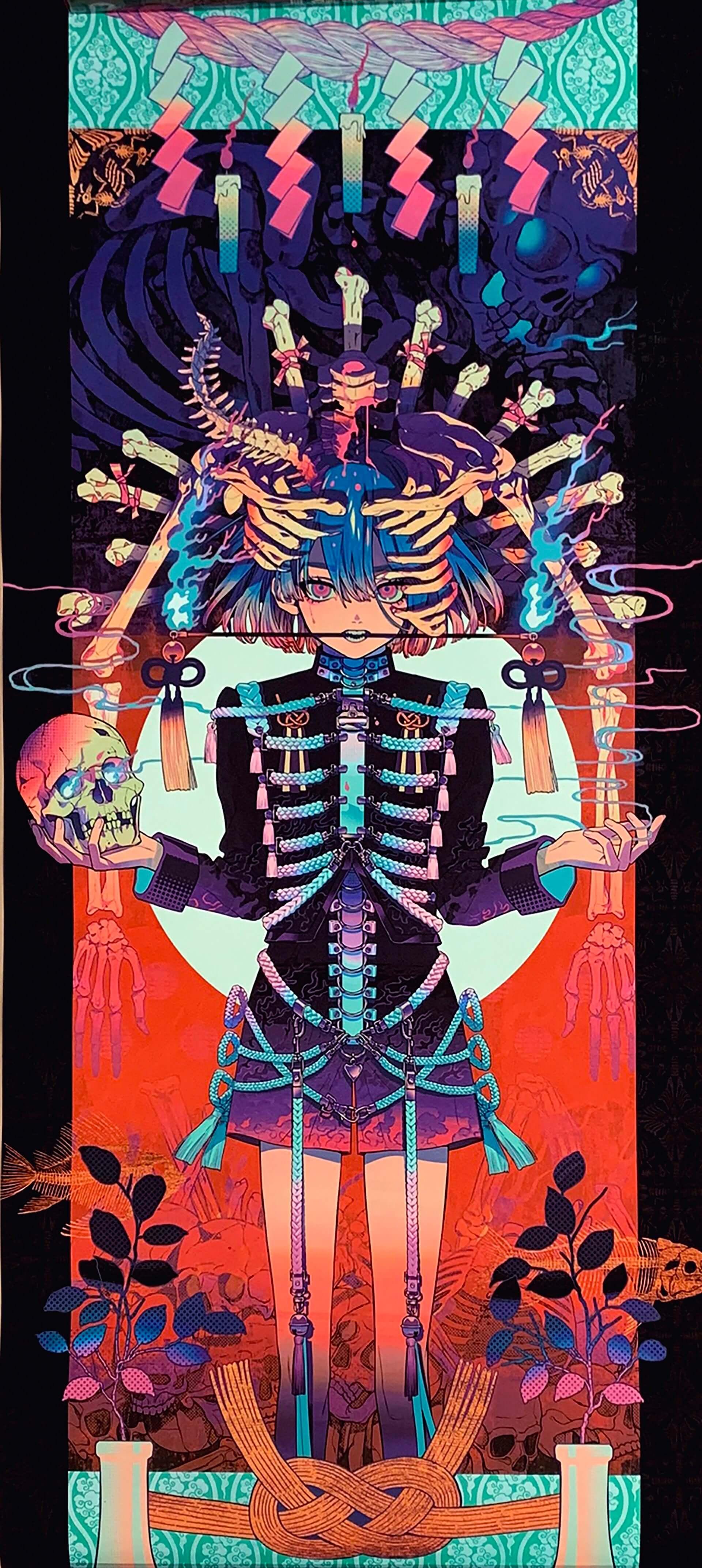 野性爆弾COOKIEが画家として新作を発表!米原康正、秋赤音、Hajime Kinokoら出展の<リアルトウキョウアート>が入場無料で開催 art200324_realtokyoart_10-1920x4289
