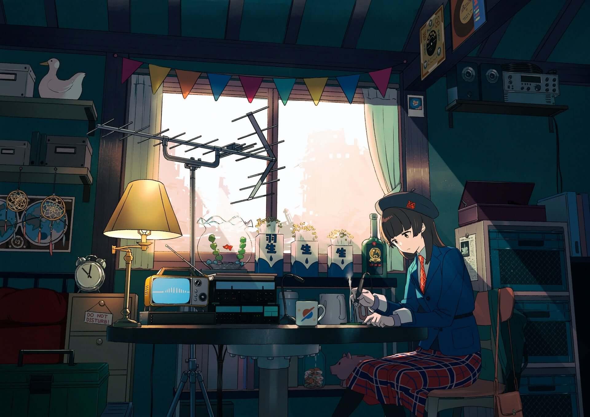 アニメーションとチルアウトミュージックを24時間365日配信!「Tokyo LosT Tracks -サクラチル-」が始動 music200324_tokyo_lost_tracks_3-1920x1357
