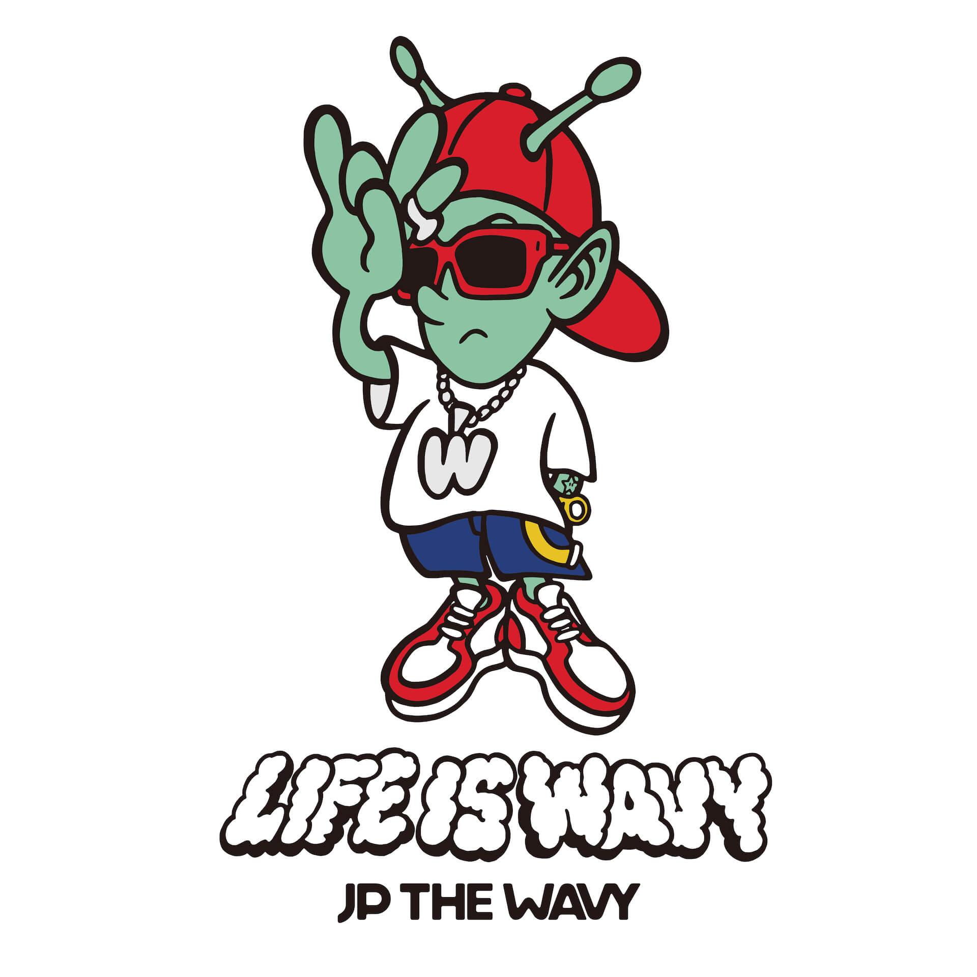JP THE WAVYの1stアルバム『LIFE IS WAVY』のVERDY作アートワーク&トラックリスト公開|VERBAL、MIYACHI、Jay Park、LEXら参加 music200325_jpthewavy_main