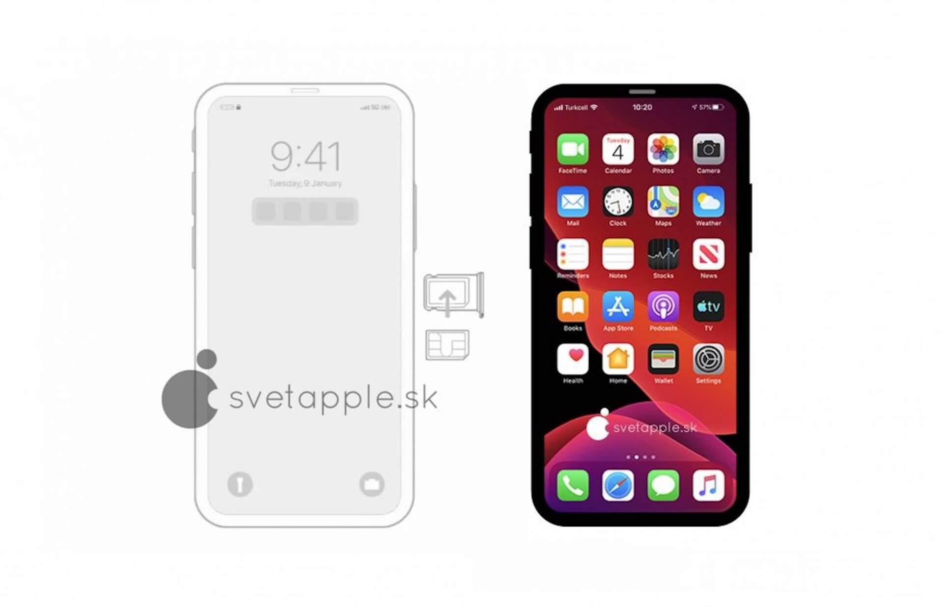 iPhone 12はノッチレスに?iOS 14のソースコードから判明|レンダリング画像も公開 tech200326_iphone12_notch_main