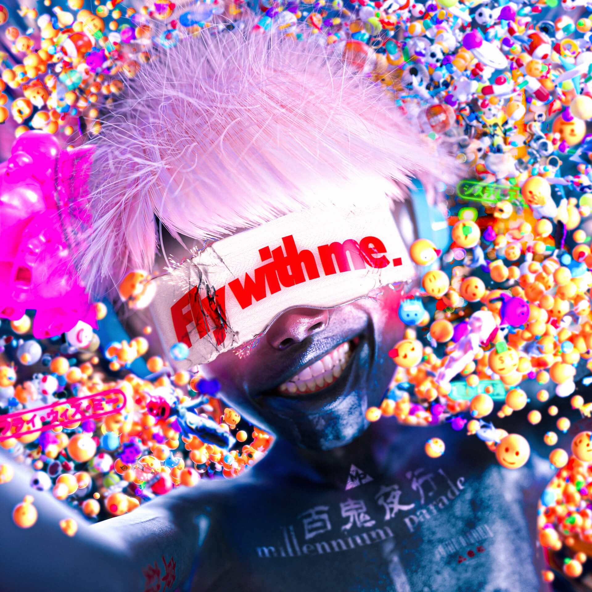 millennium paradeの攻殻機動隊テーマ「Fly with me」にSteve Aokiによるリミックス曲が収録決定!初ワンマンライブの音源も収録 art200330_ghostintheshell_tsuneda_5