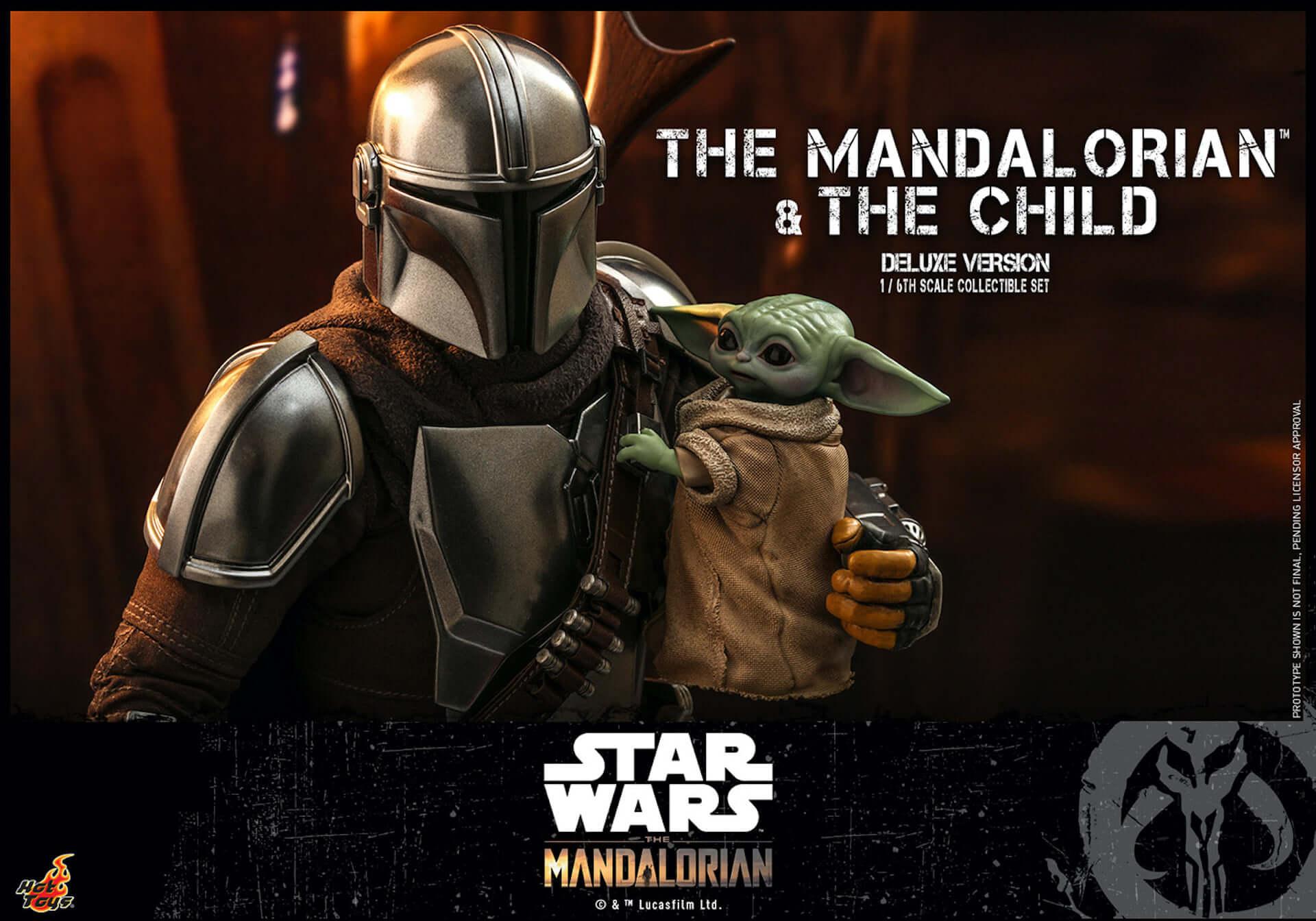 ついにマンダロリアンとザ・チャイルドがセットで登場!ホットトイズ「テレビ・マスターピース」シリーズに『マンダロリアン』新作が発表 art200331_hottoys_mandalorian_1-1920x1344