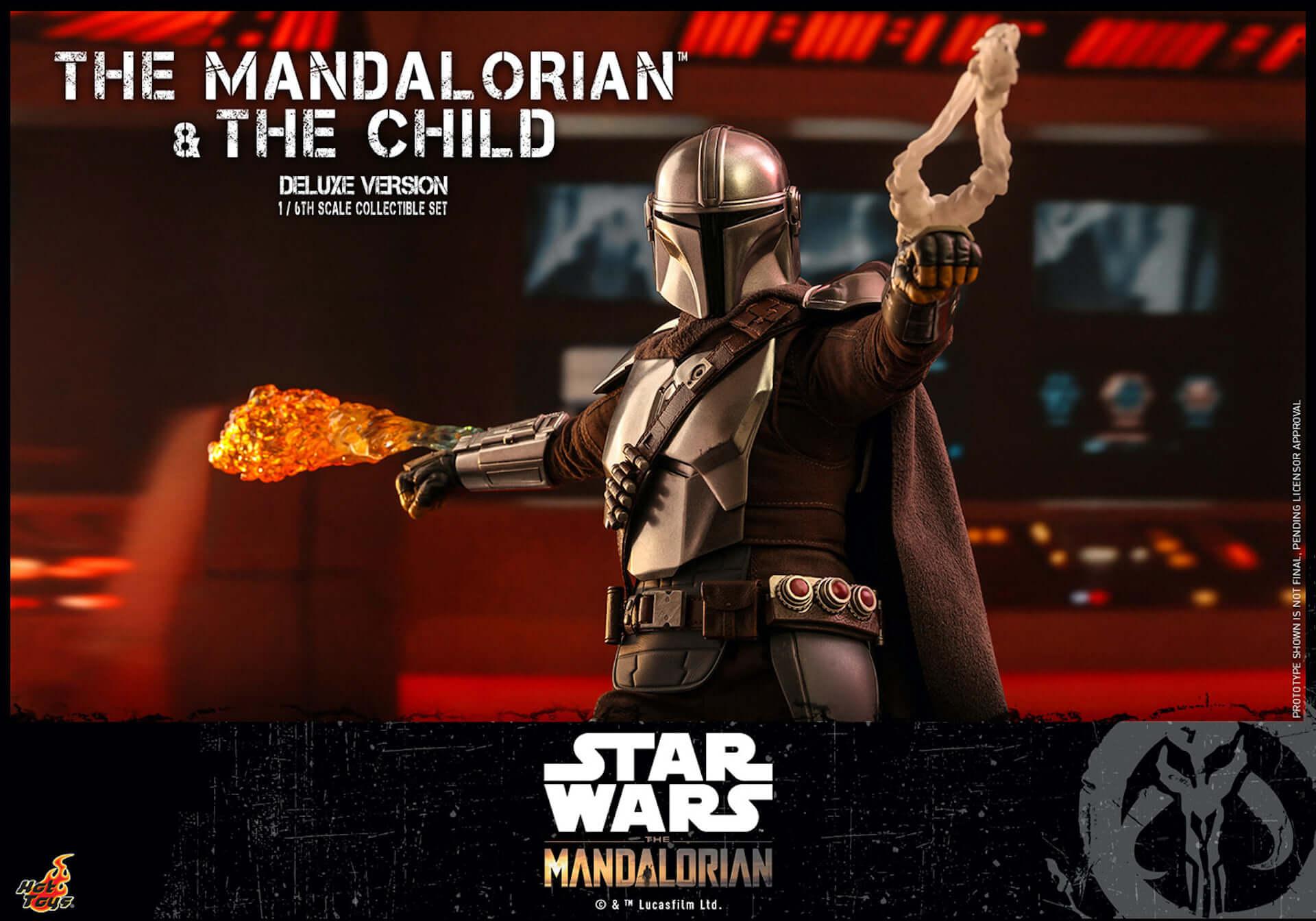 ついにマンダロリアンとザ・チャイルドがセットで登場!ホットトイズ「テレビ・マスターピース」シリーズに『マンダロリアン』新作が発表 art200331_hottoys_mandalorian_3-1920x1344