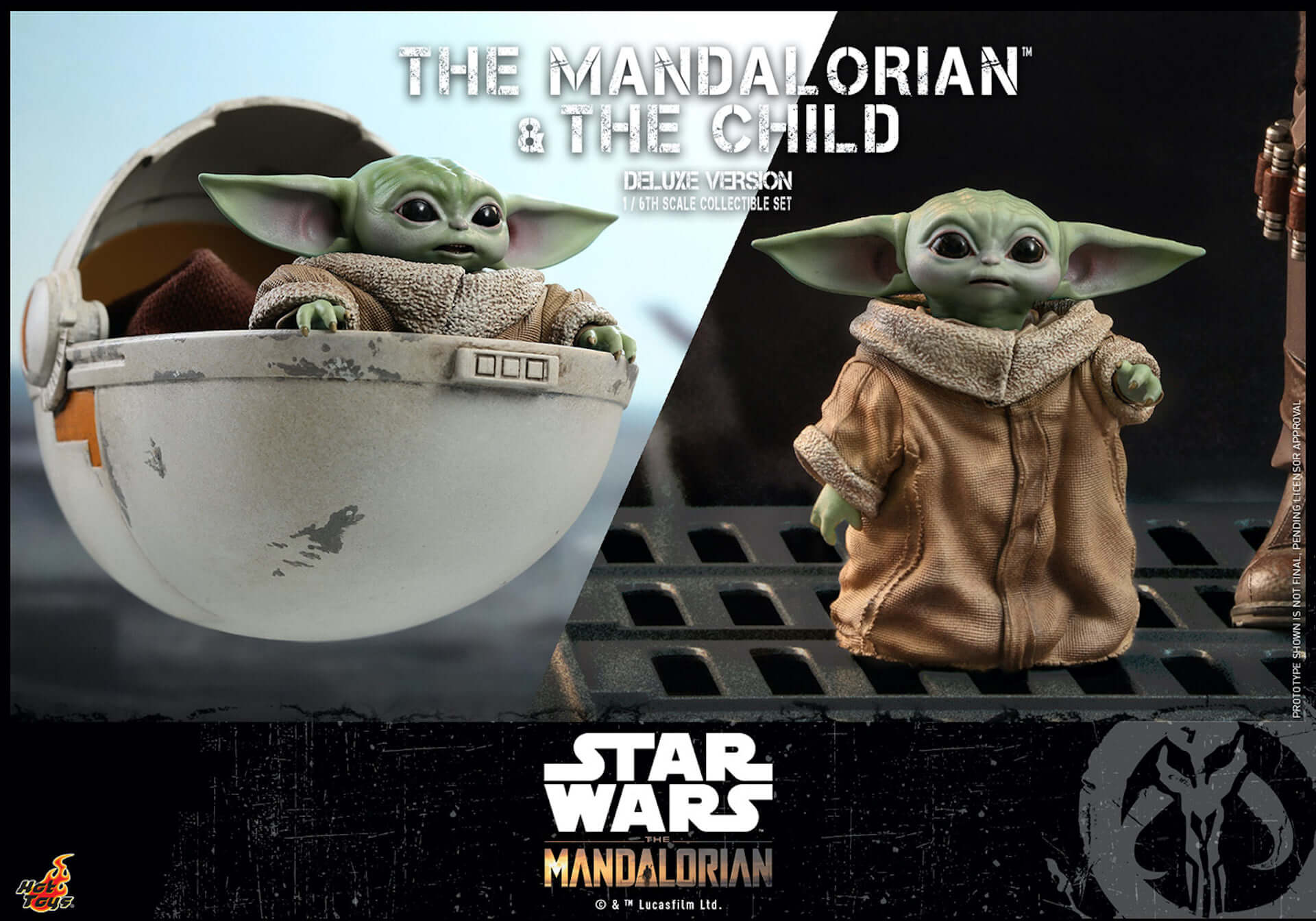 ついにマンダロリアンとザ・チャイルドがセットで登場!ホットトイズ「テレビ・マスターピース」シリーズに『マンダロリアン』新作が発表 art200331_hottoys_mandalorian_6-1920x1344