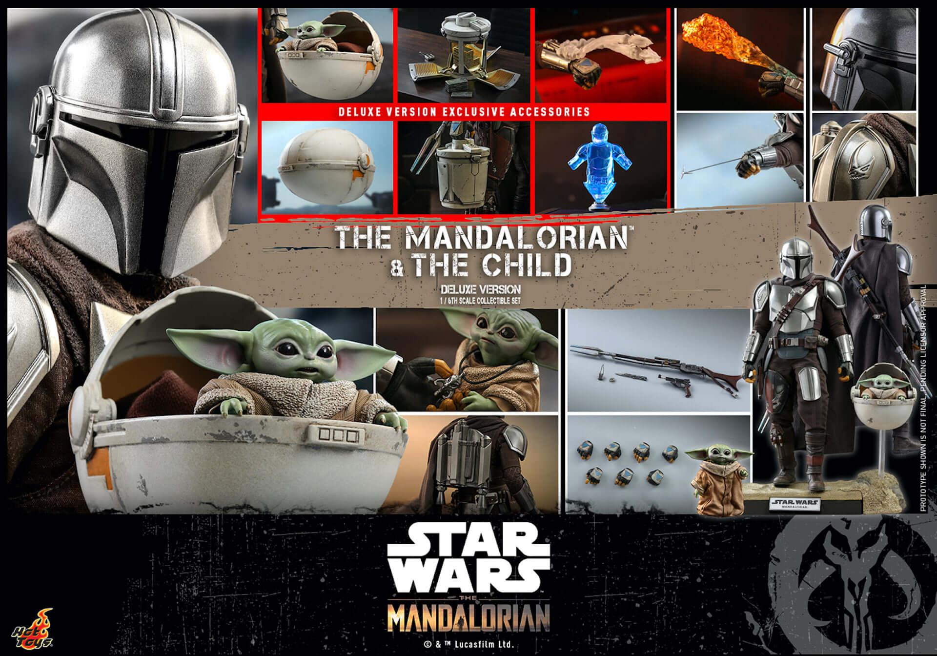 ついにマンダロリアンとザ・チャイルドがセットで登場!ホットトイズ「テレビ・マスターピース」シリーズに『マンダロリアン』新作が発表 art200331_hottoys_mandalorian_8-1920x1344