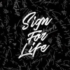 sign for life 署名