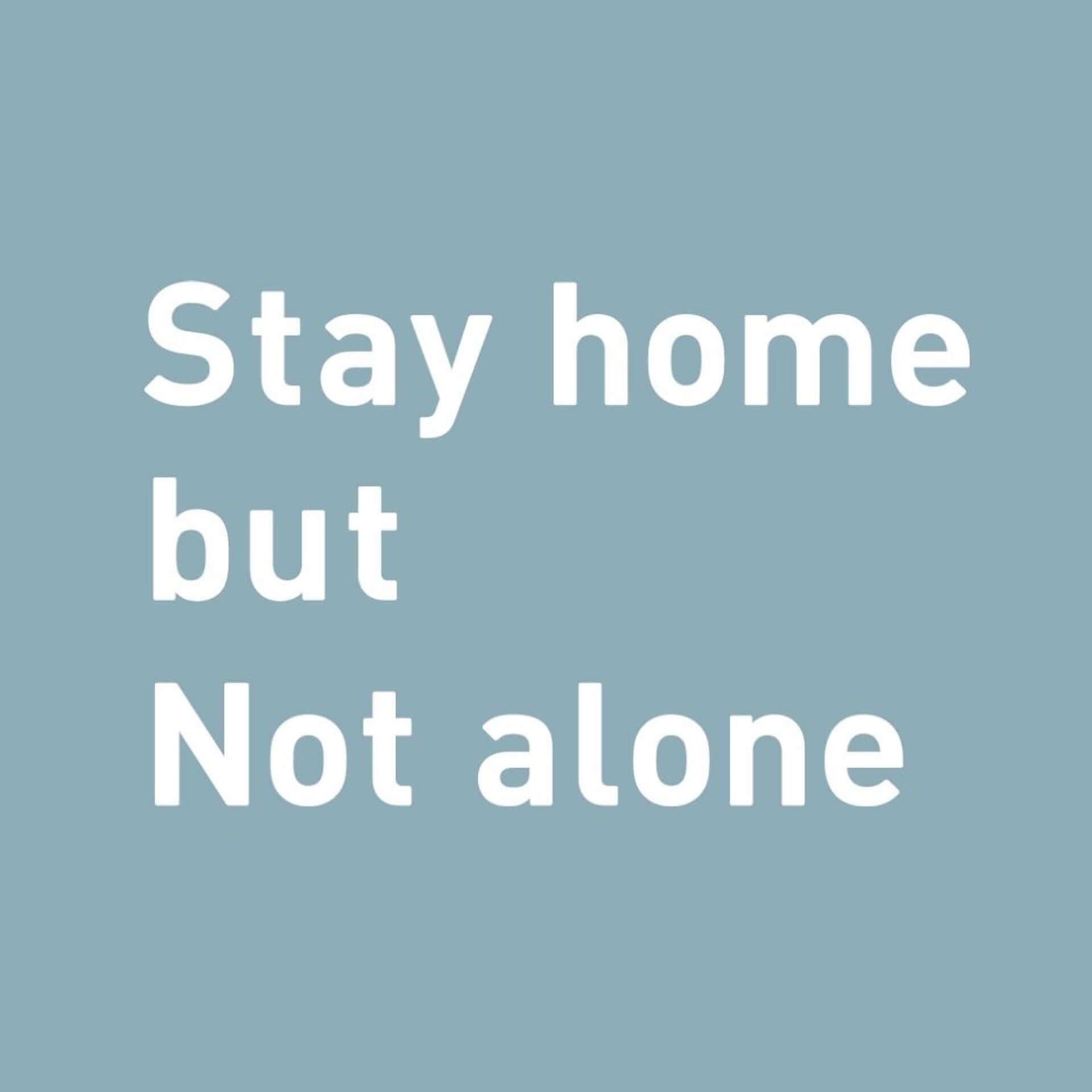 (THE)LIVING ROOM STUDIOによるプロジェクト「Stay home but Not alone」が始動|フリーランスのクリエイターによるデザインTシャツが販売 life200406_stayhome_1-1920x1920