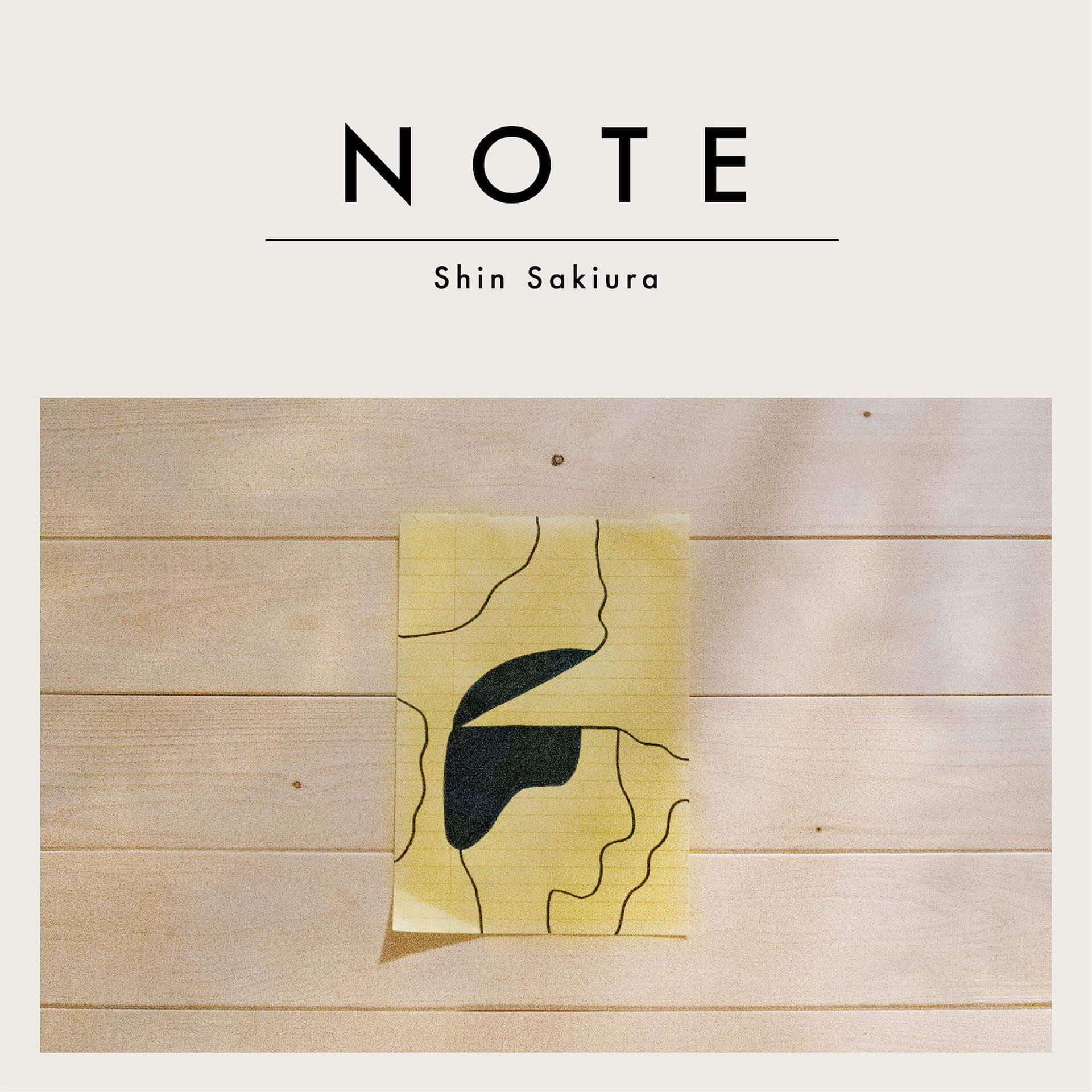 Shin Sakiura、3rdアルバム『NOTE』リリース記念スタジオライブの配信を決定! music200406_shinsakiura_1