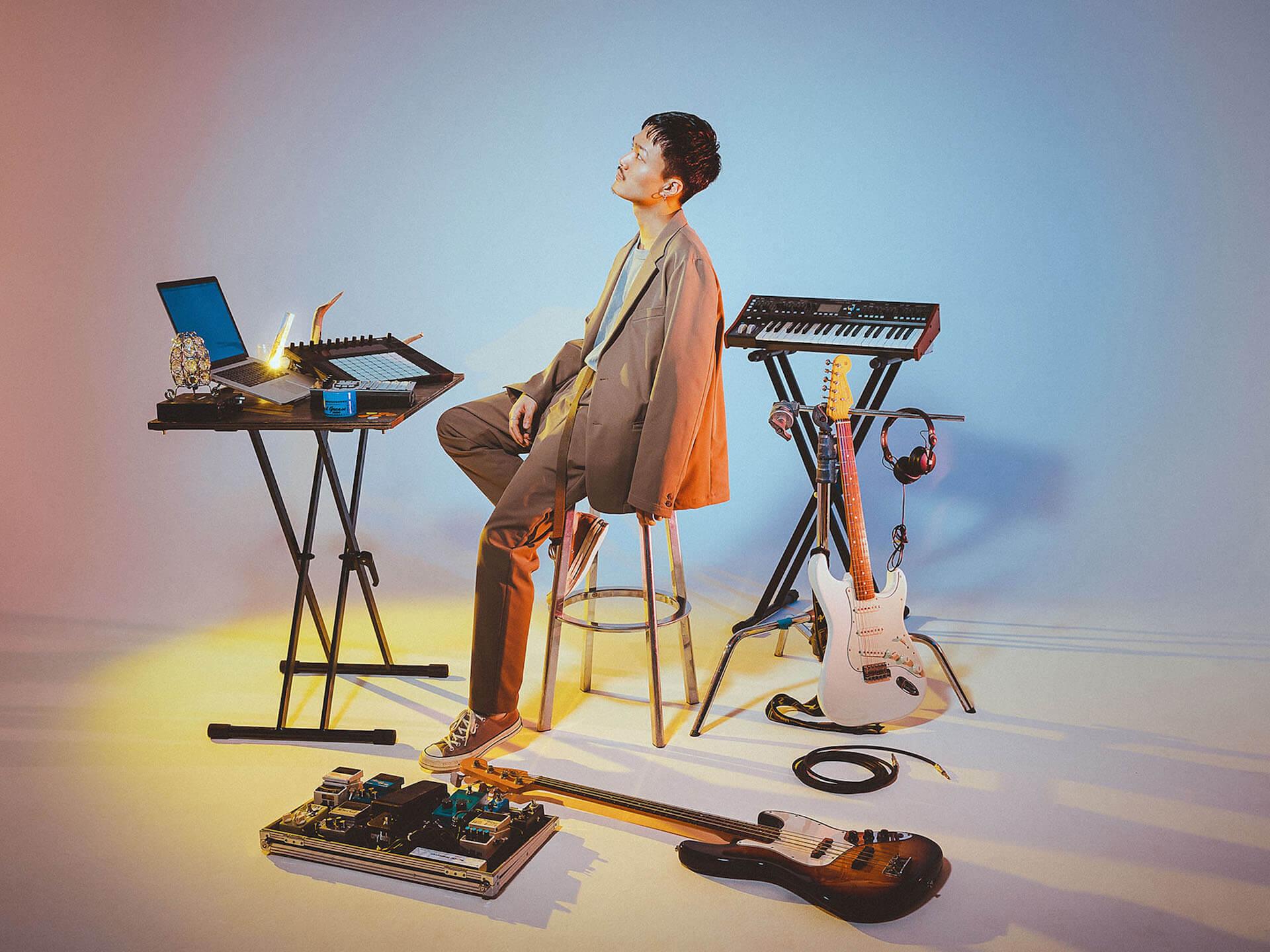 Shin Sakiura、3rdアルバム『NOTE』リリース記念スタジオライブの配信を決定! music200406_shinsakiura_3
