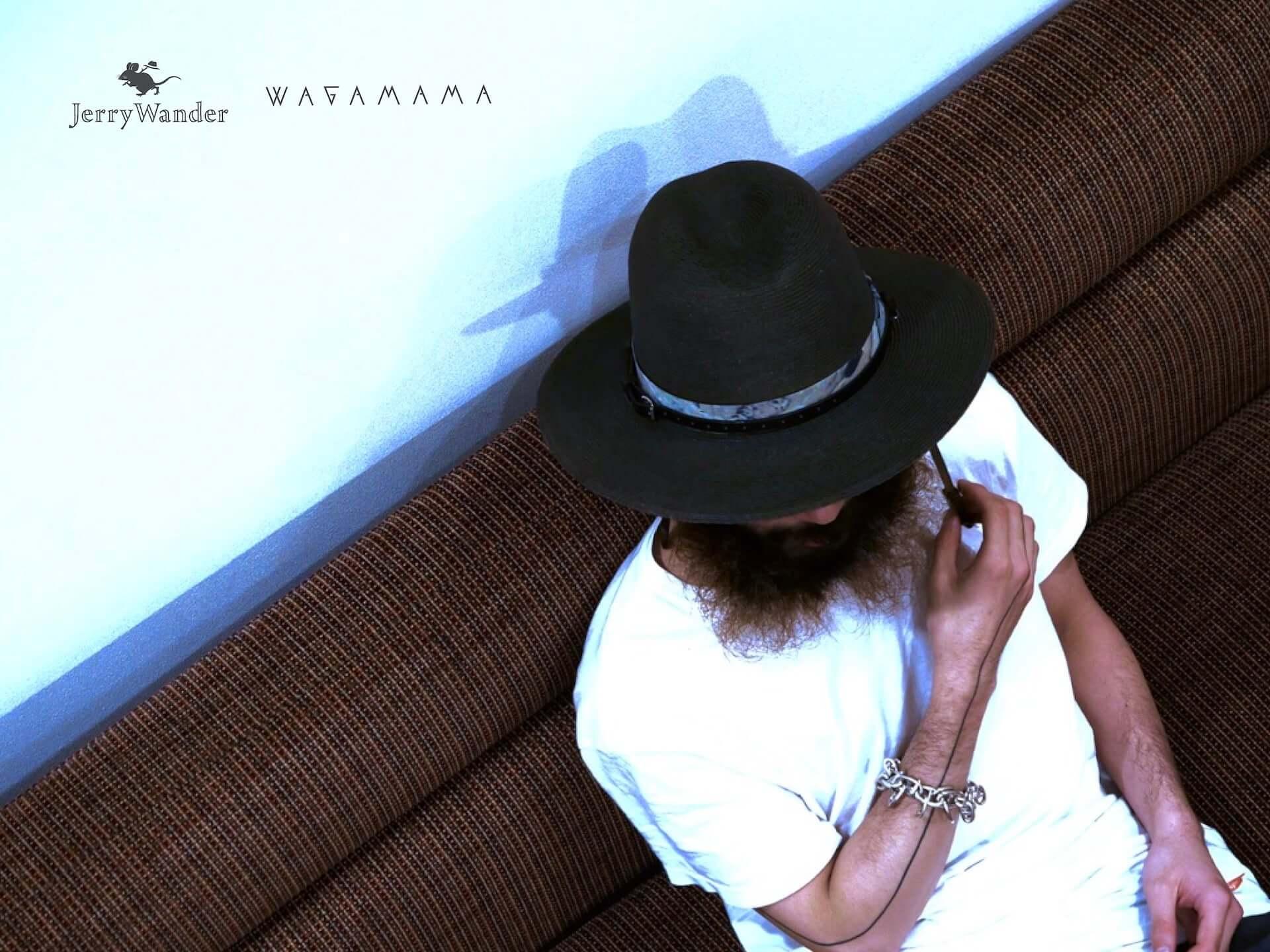 新たな帽子ブランド「Jerry Wander」に現代的レンジャーハットが登場!WAGAMAMA TOKYOとの別注モデルも life200408_jerrywander_7-1920x1440