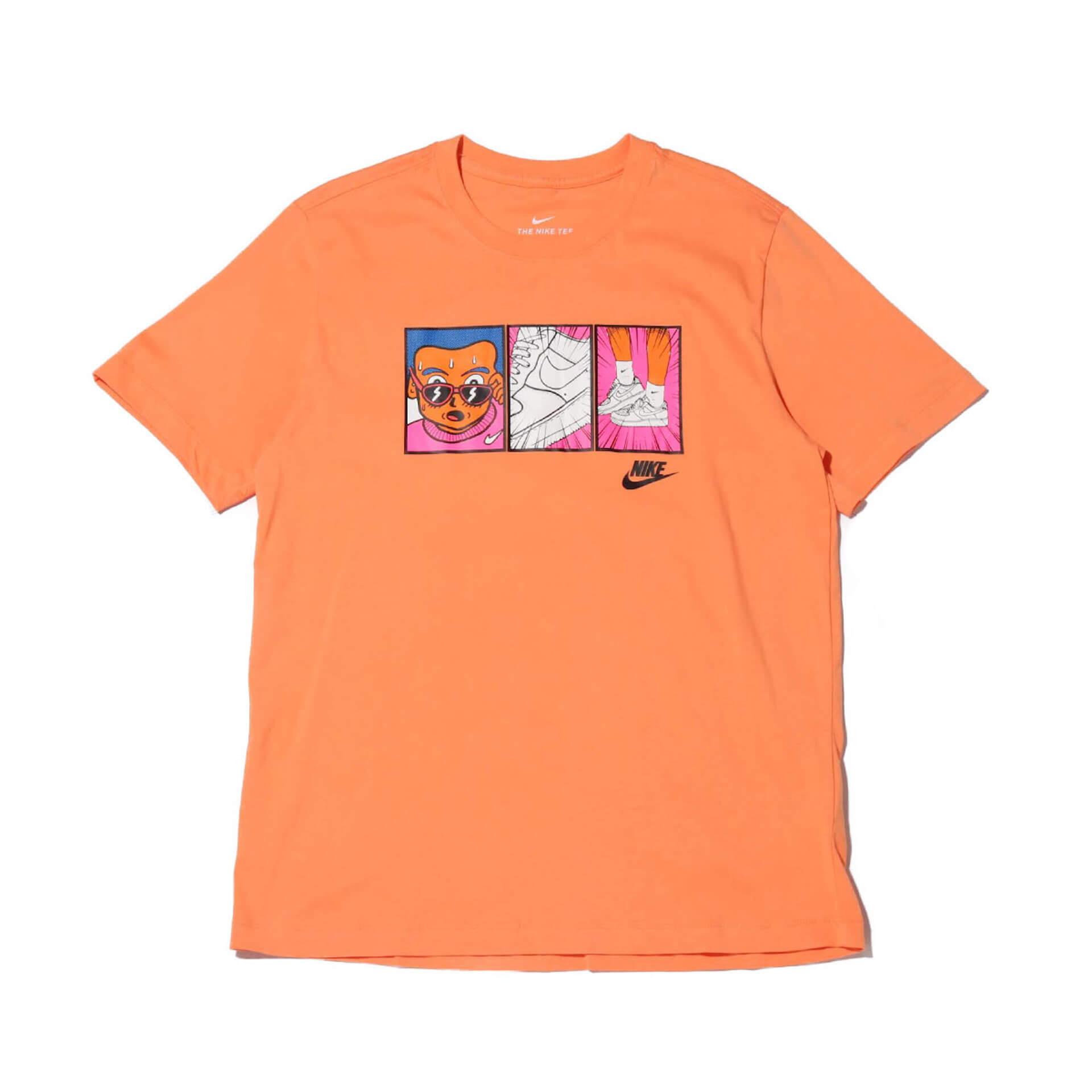 漫画の1コマのようなプリントが施された「NIKE MANGA T-SHIRT COLLECTION」がatmosにて先行販売決定 lf200408_nikemangatee_10