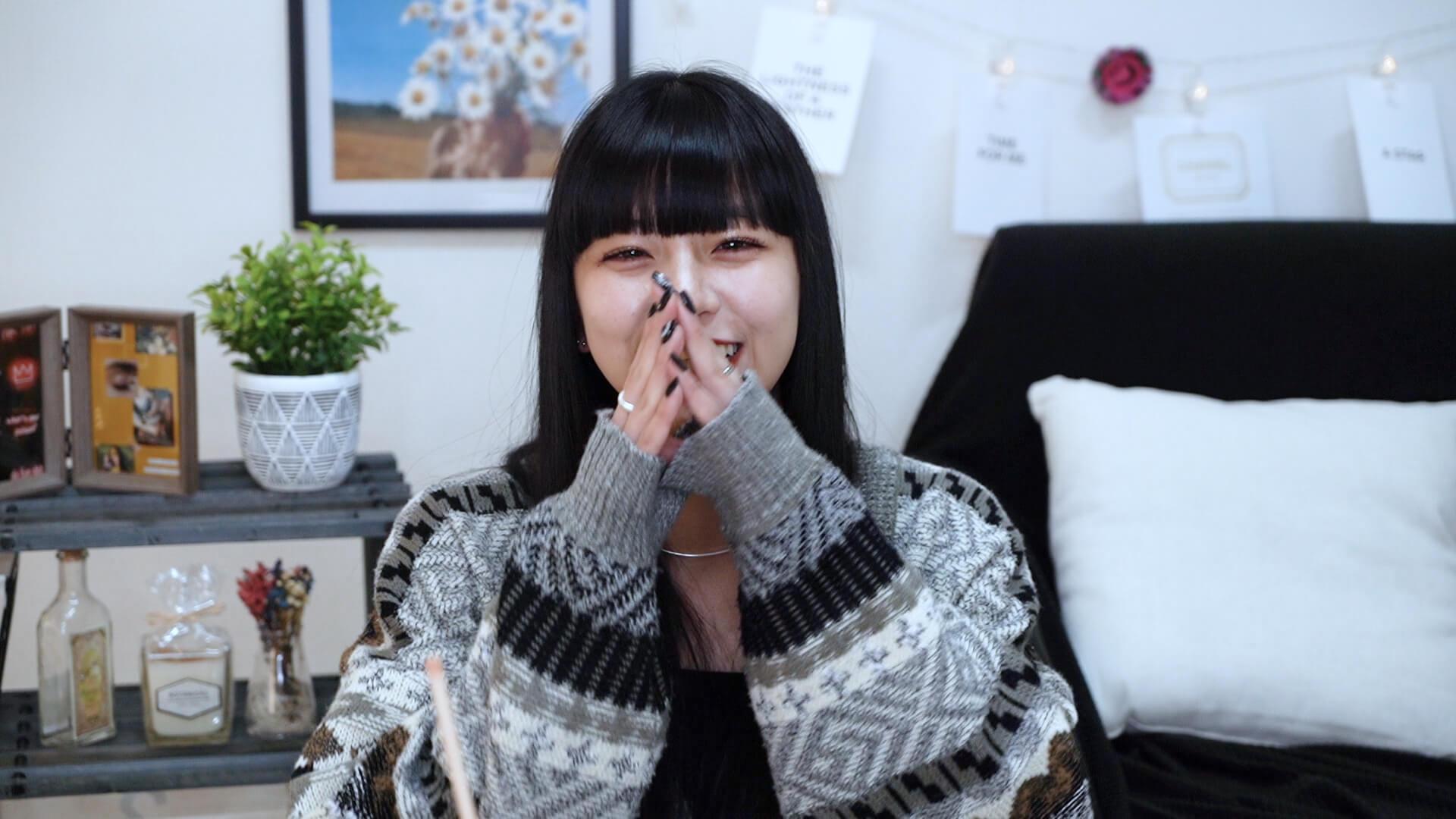 『月とオオカミちゃんには騙されない』出演で人気急上昇のFAKY・HinaがYouTubeチャンネルでキュートな笑顔を披露! music200409_faky_hina_2